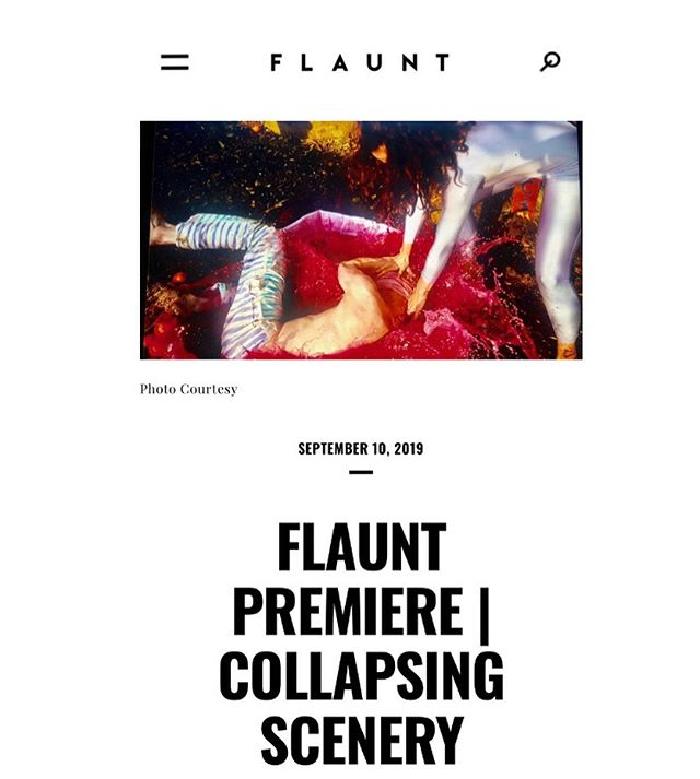 "Today @flauntmagazine is premiering our video for ""Queen of Proofs"" (feat. @jammzthemyth) from 'Stress Positions'! The post also details upcoming tour dates with @ceremony and @crxmusic. @abbyportner did a great job directing this - link in bio"