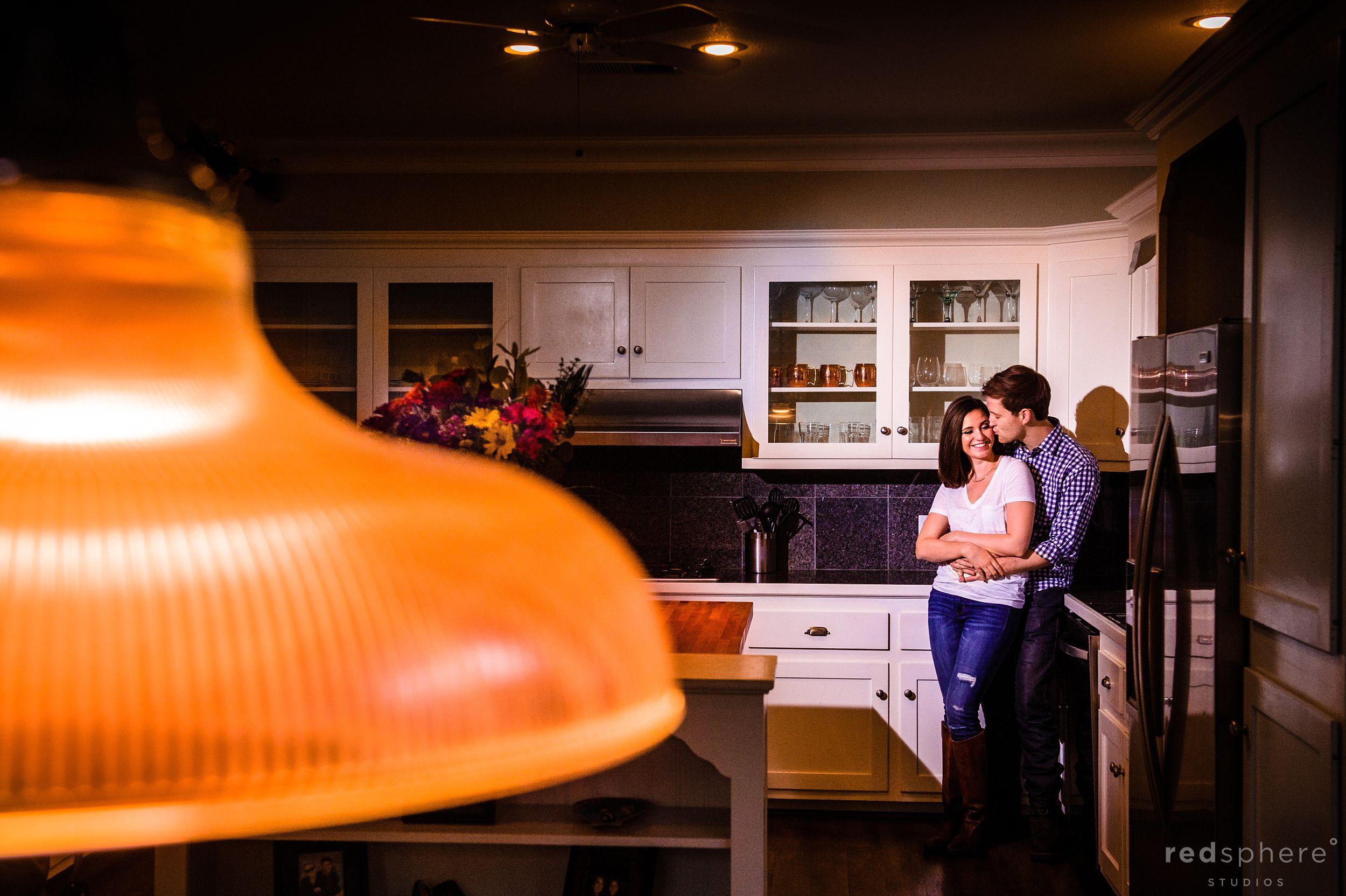San Francisco Home Kitchen Engagement