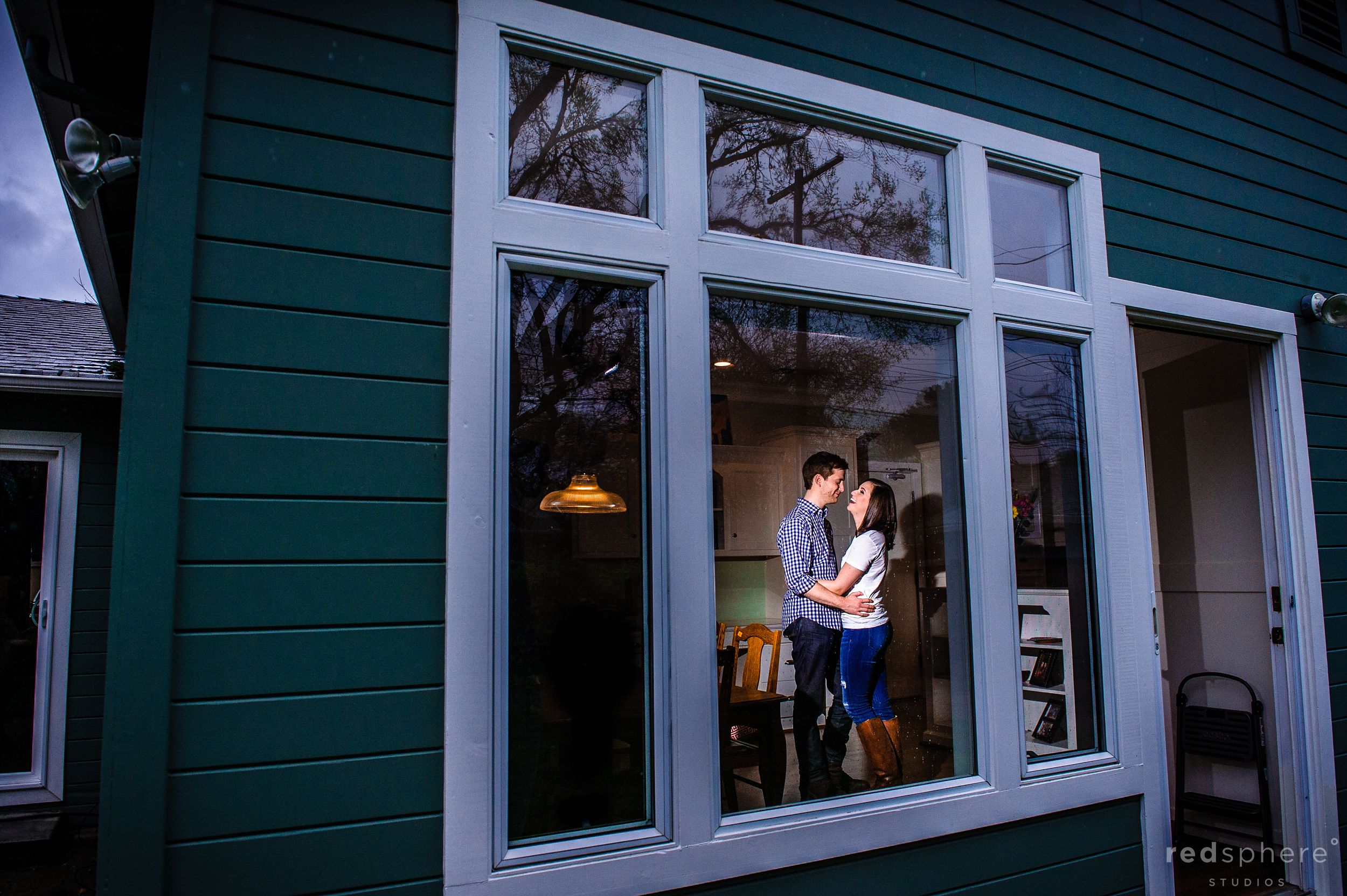 San Francisco Engagement 'Through The Window'