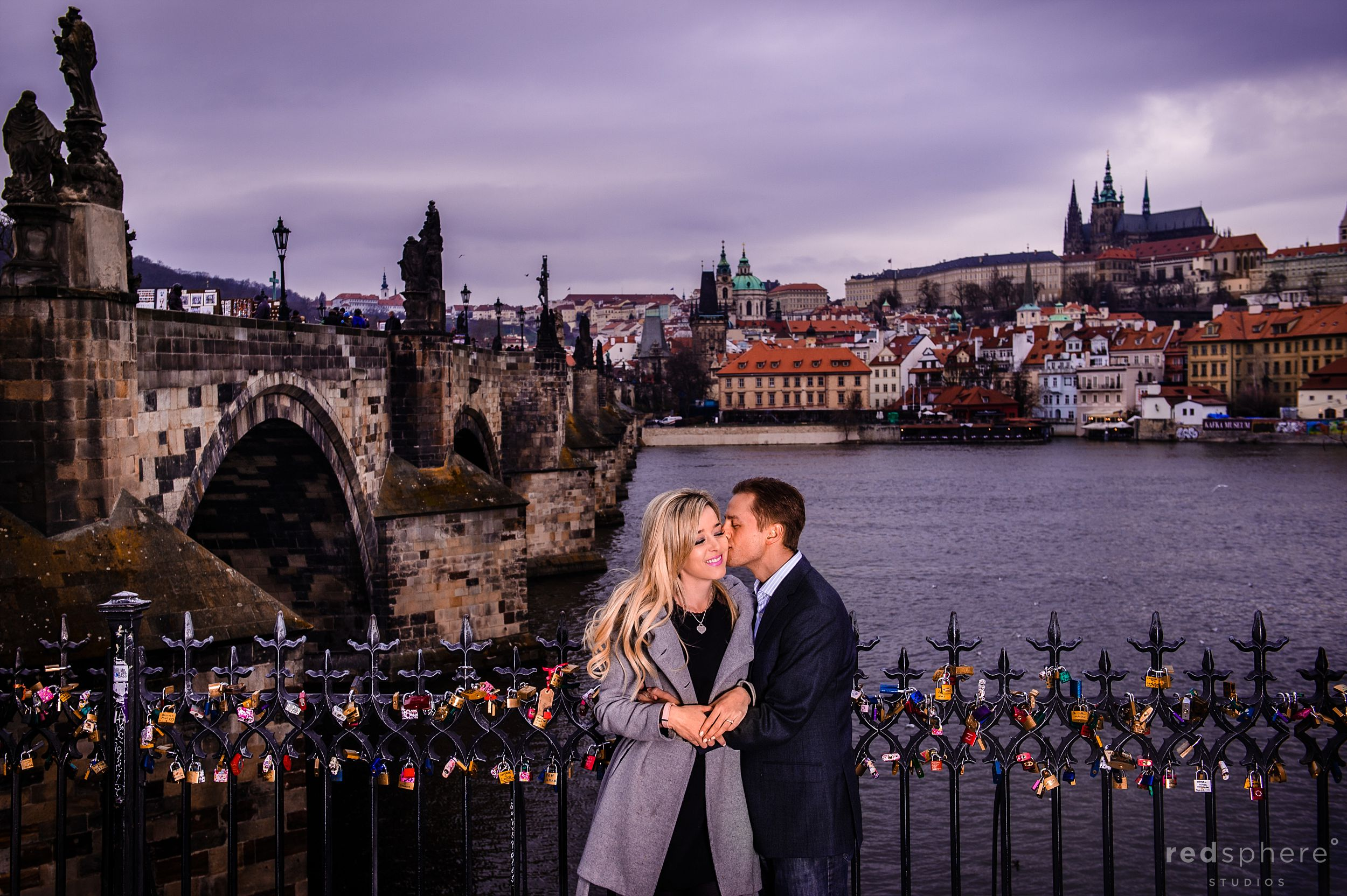 Engagement at Charles Bridge, Prague