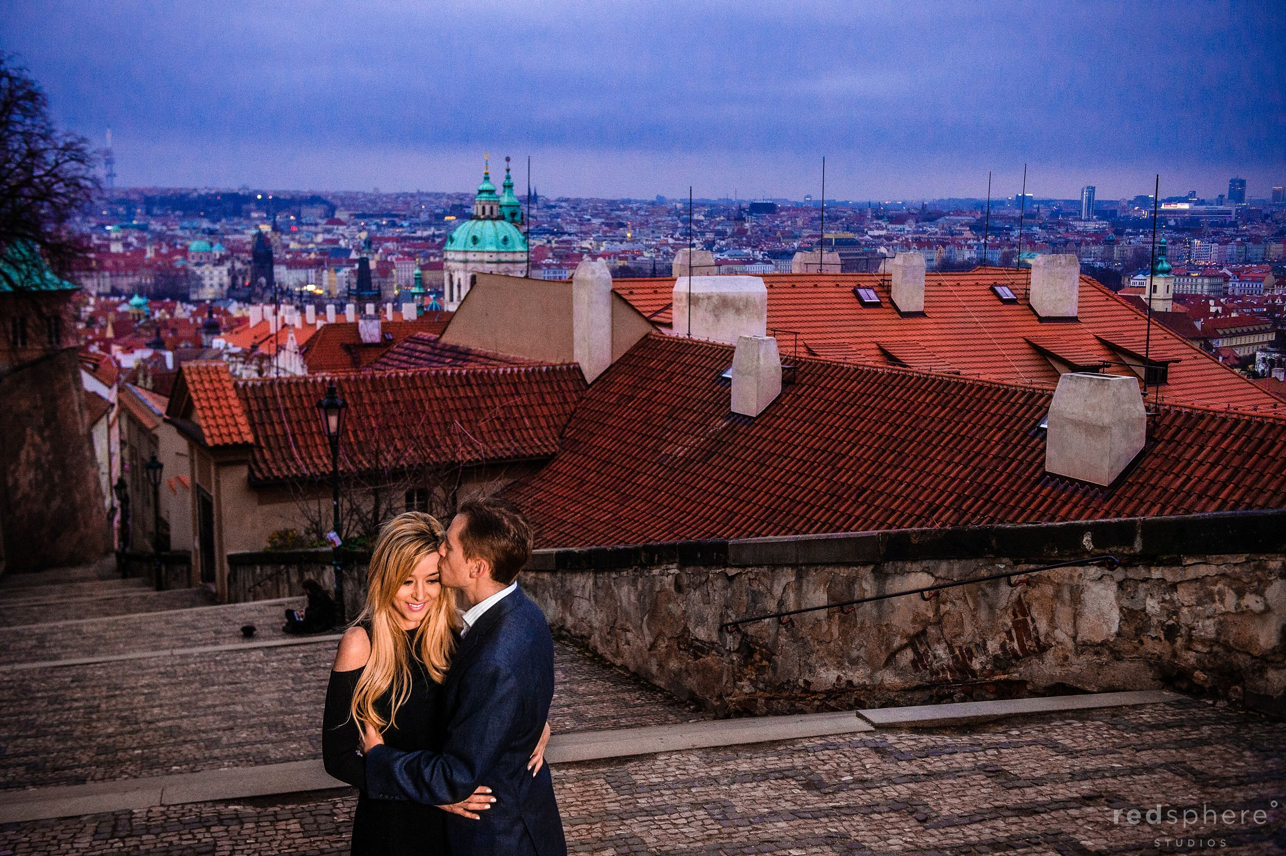 Old Town Prague Engagement
