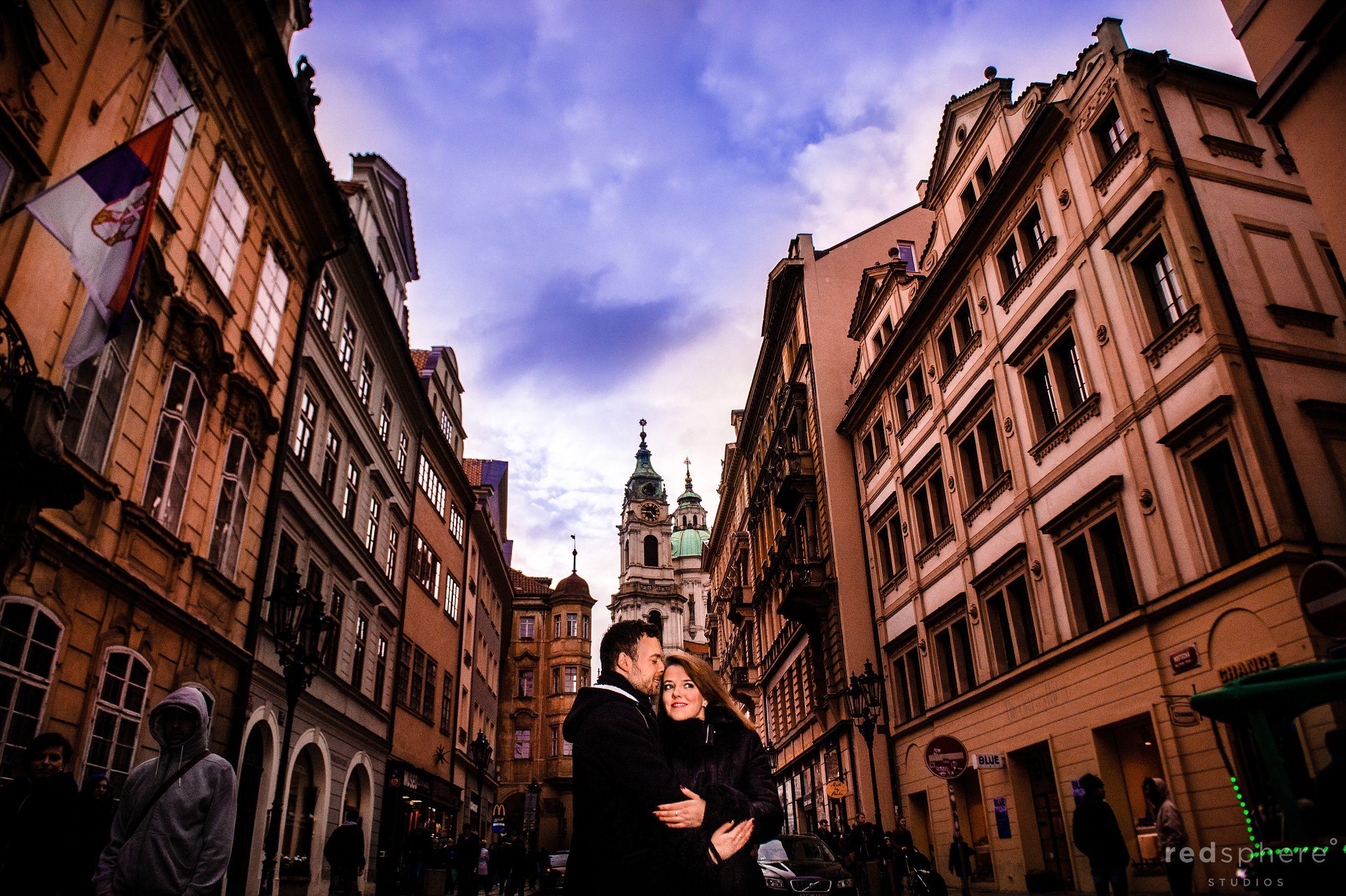 Beautiful Engagement at Prague Castle, Prague