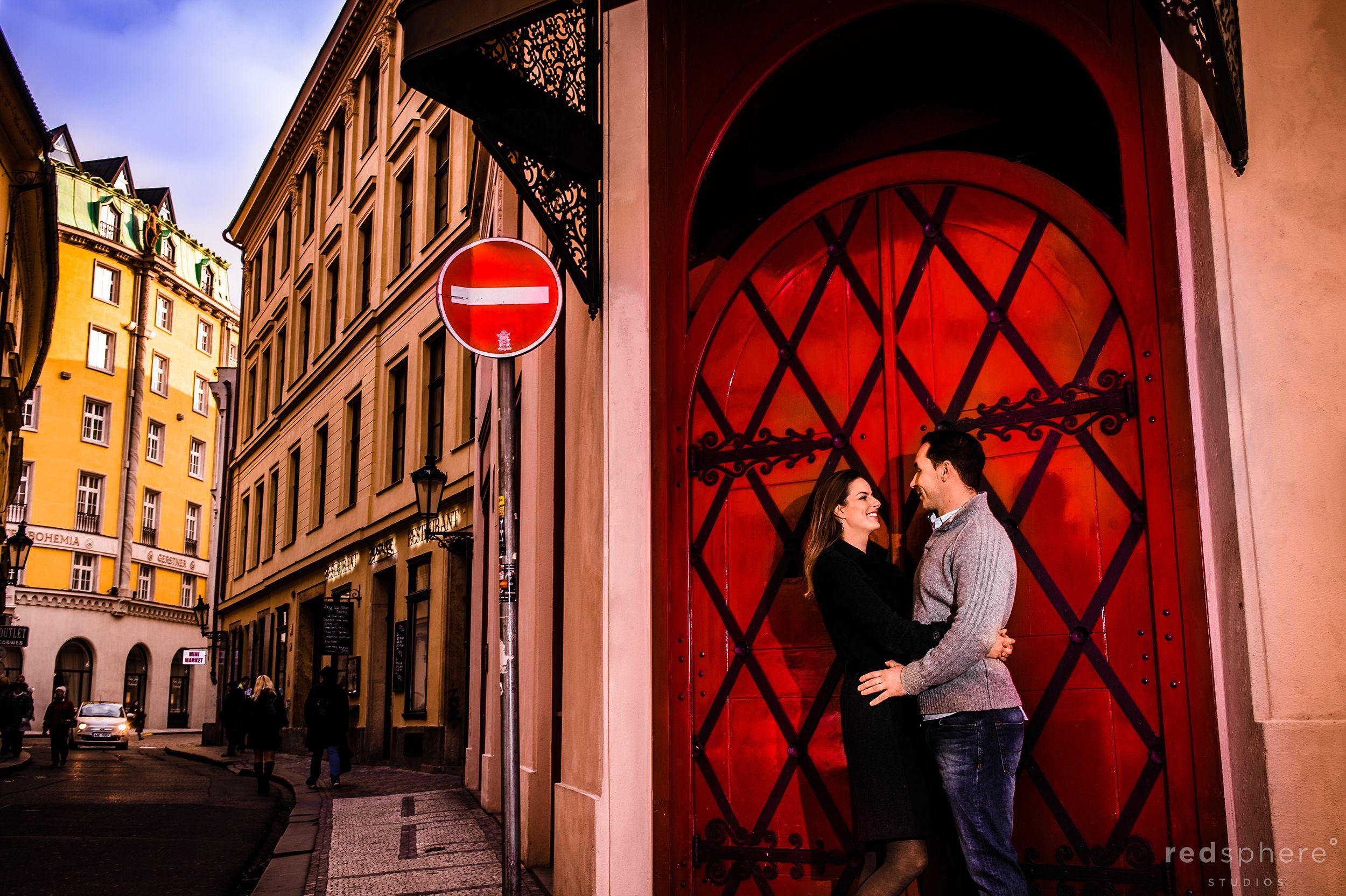 Couple Destination Engagement at Old Town Prague, Prague