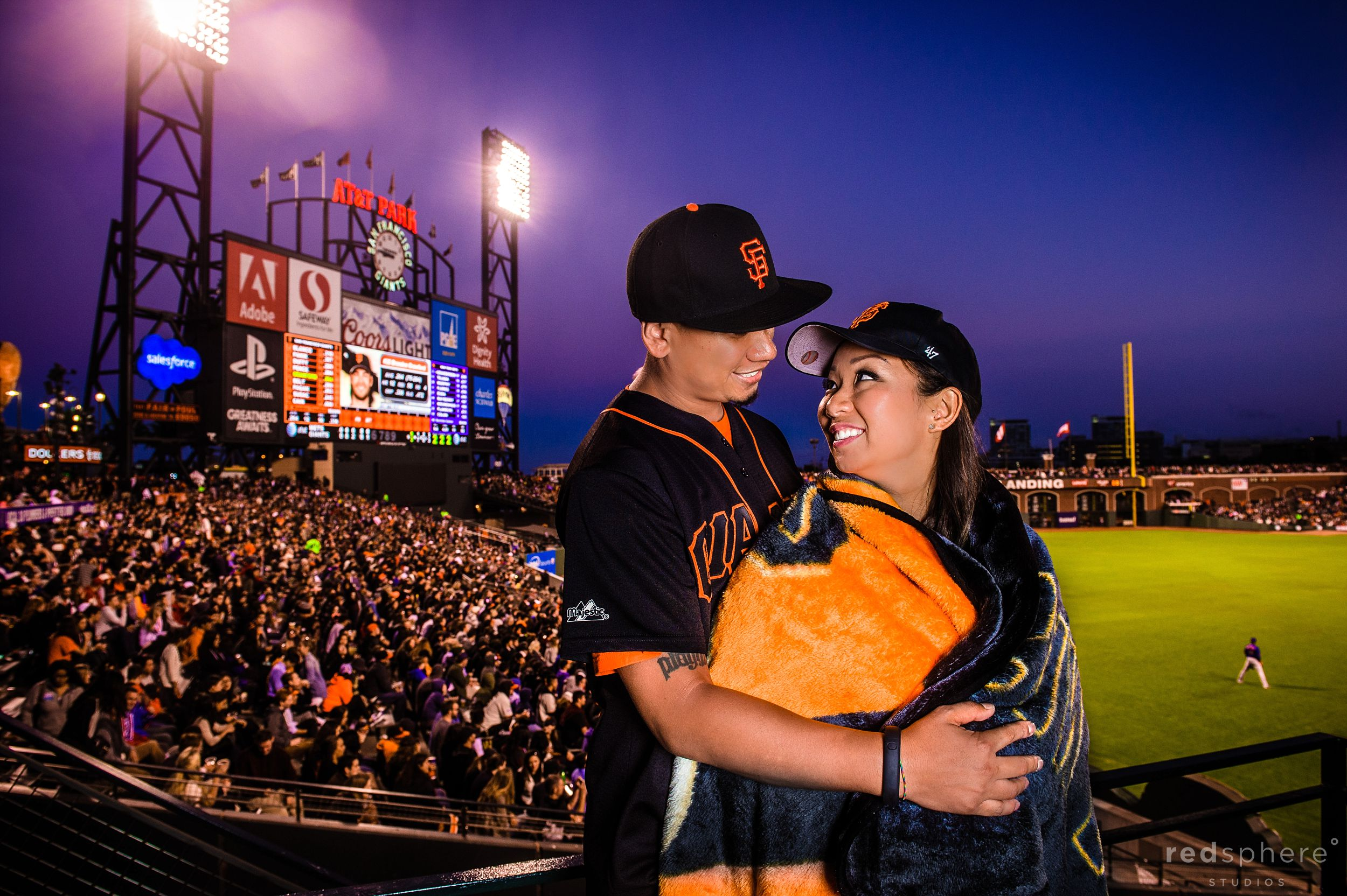 San Francisco Giants Fans Engagement Session AT&T Park