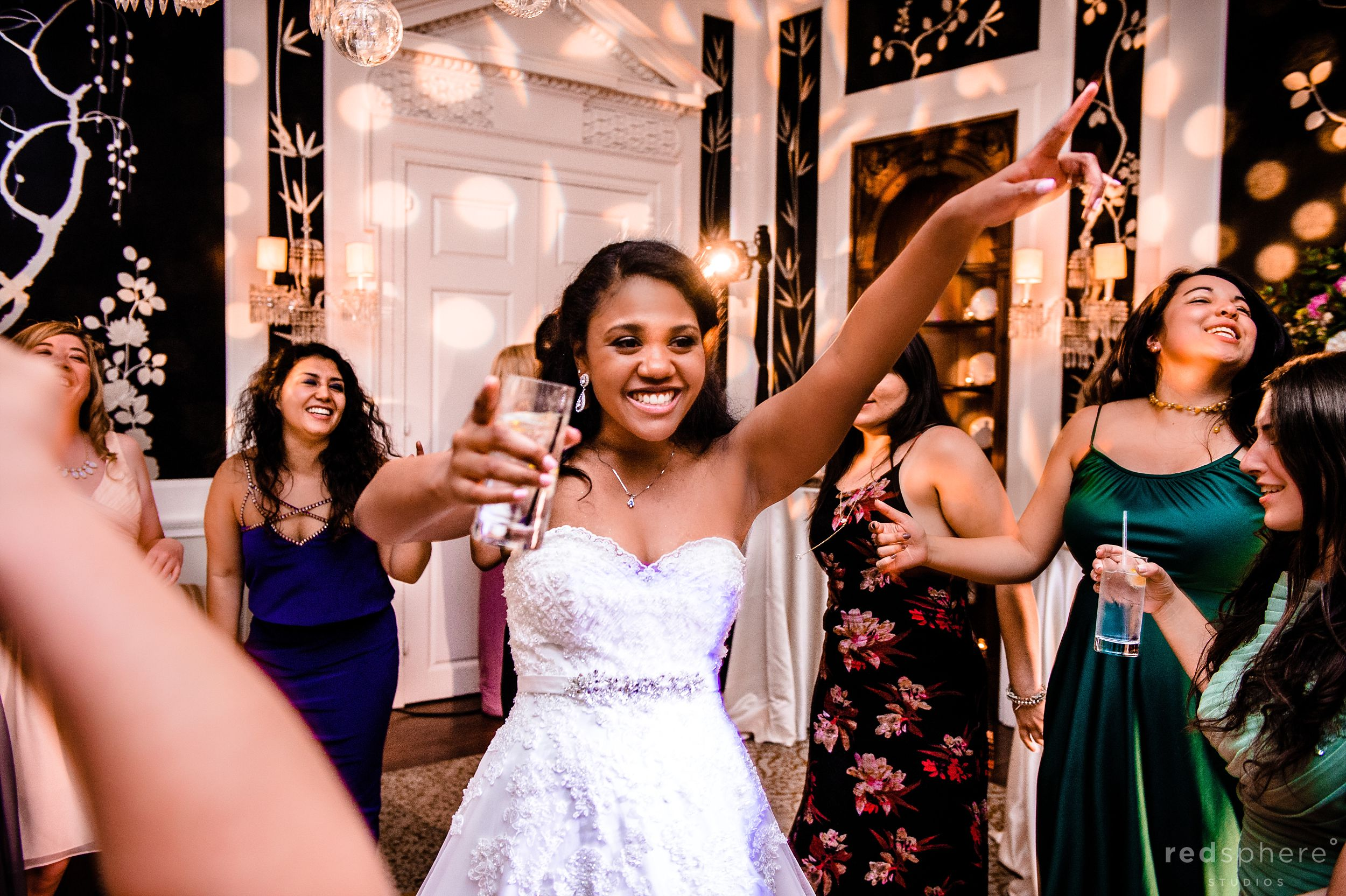 Bride Gets Ready To Party at Fairmont Hotel Penthouse Suite Wedding