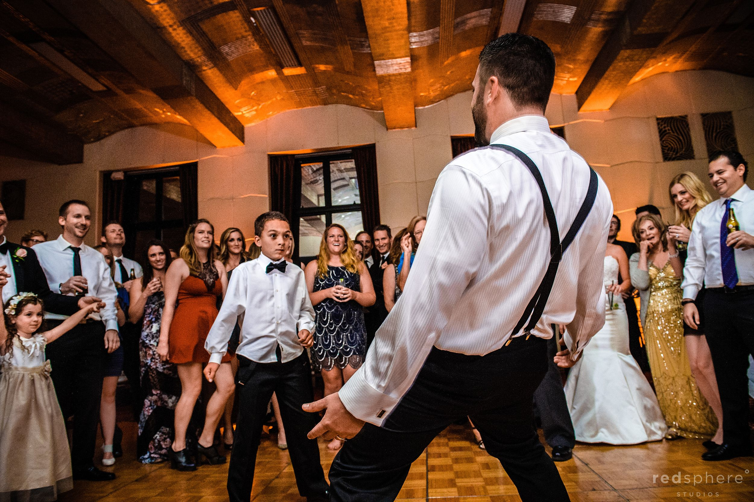 Dance Battles With the Groom At City Club San Francisco After Party