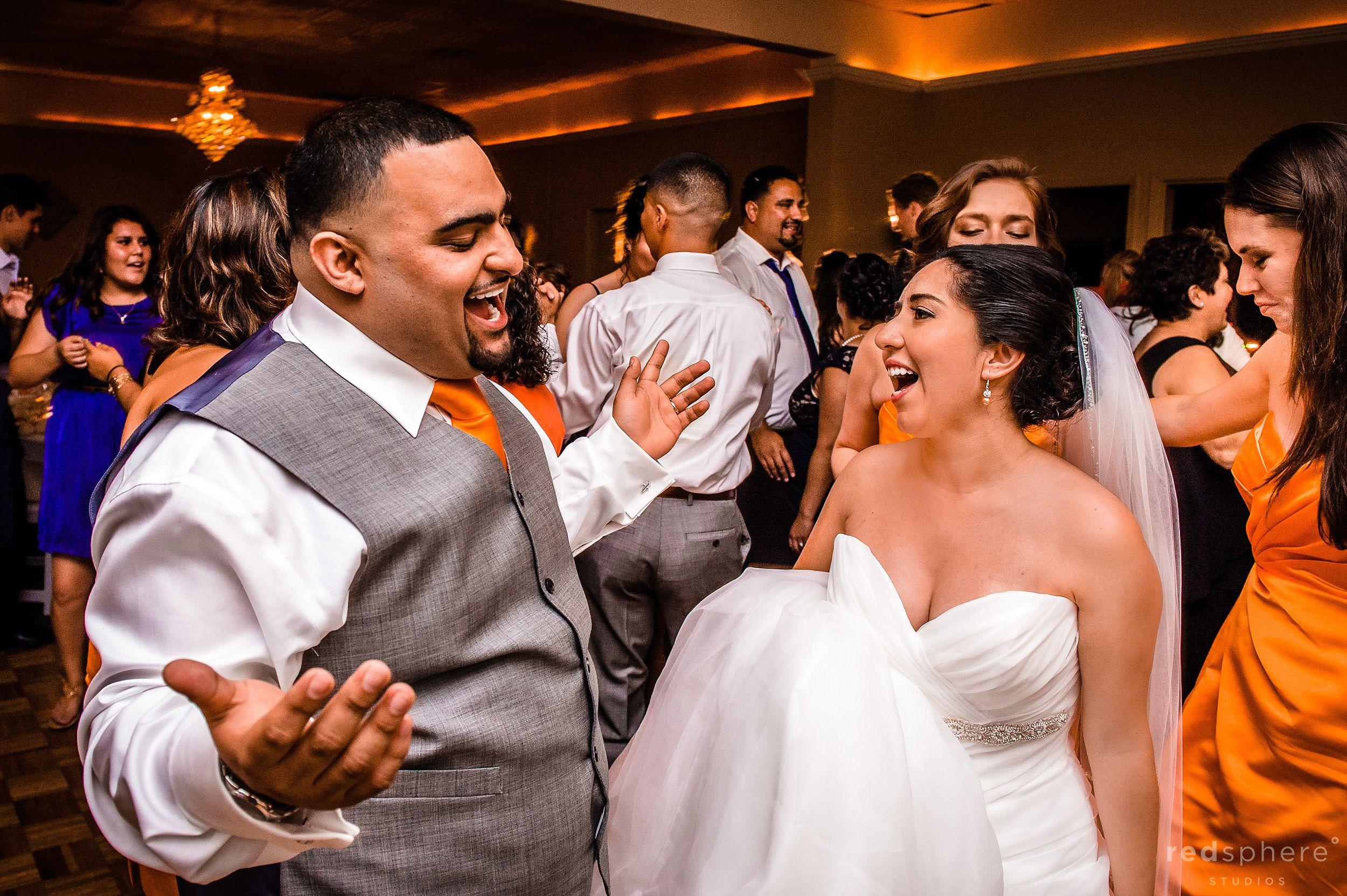 Bride and Groom Dance Floor Candids