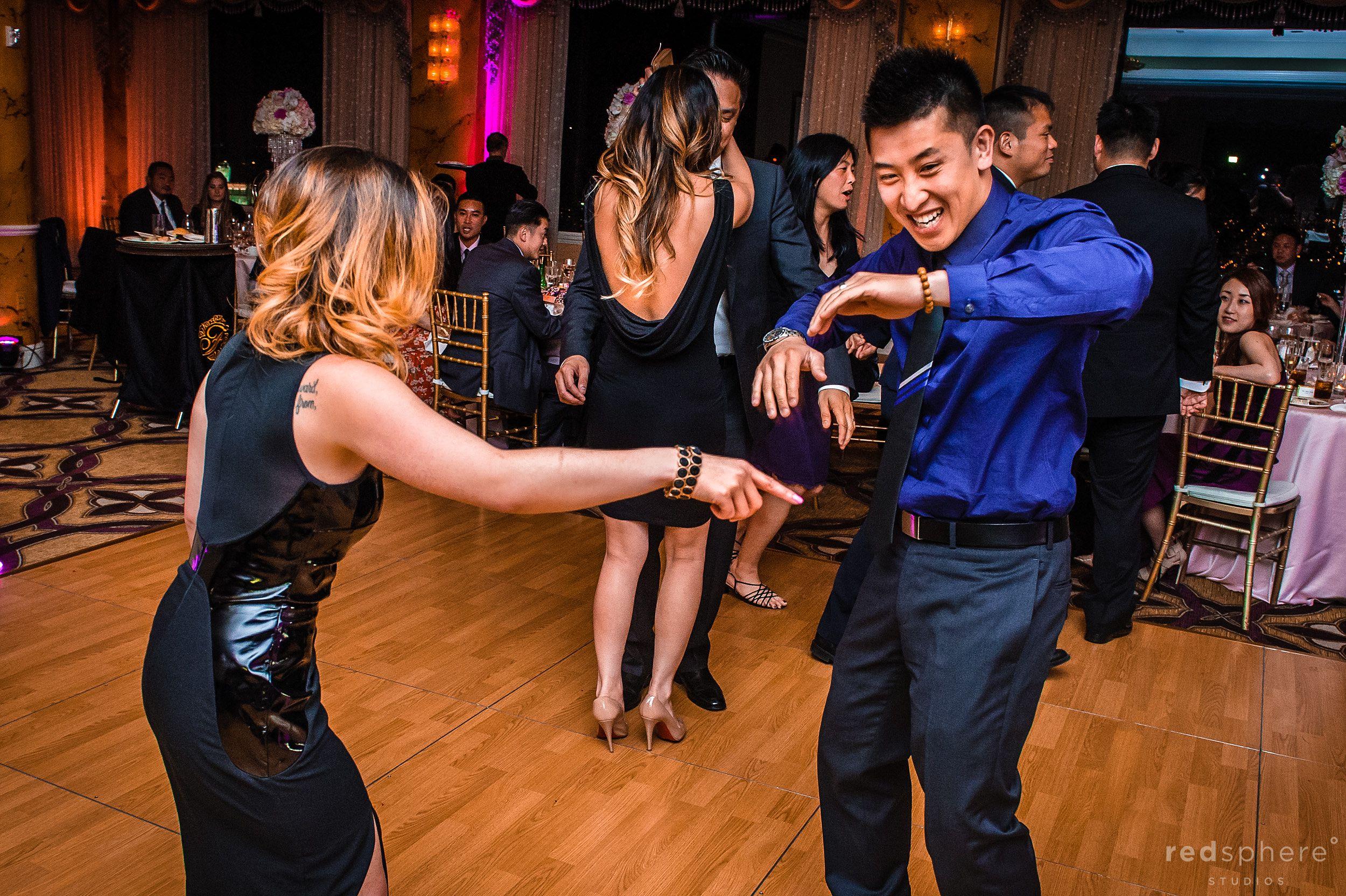 Friends Dancing at Fairmont Hotel