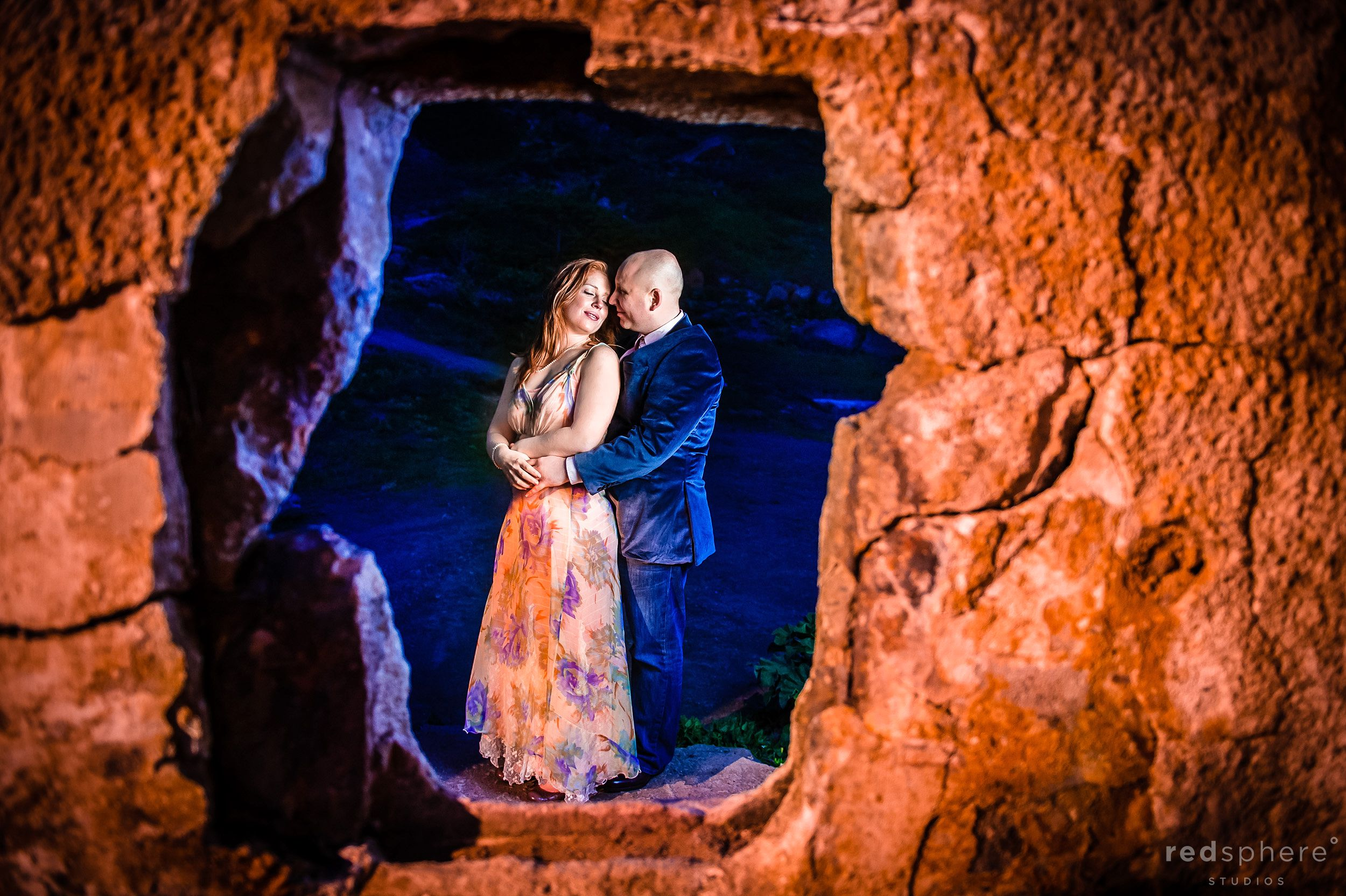 Through the Hole, Sutro Bath Engagement From Different Perspectives