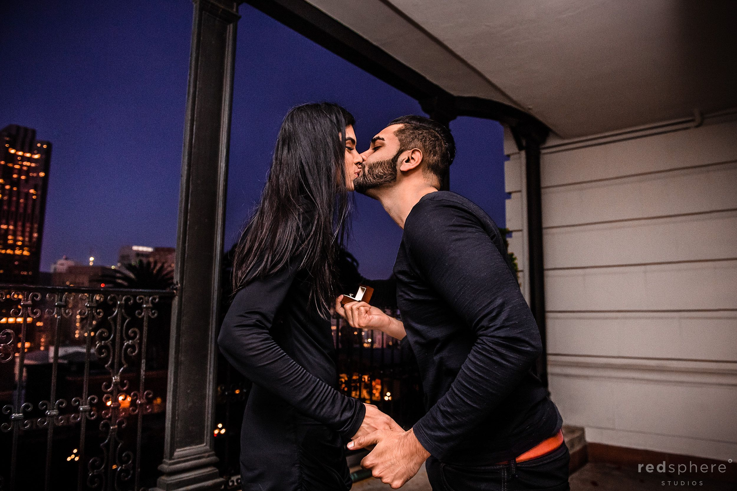 Marriage Proposal at Fairmont San Francisco