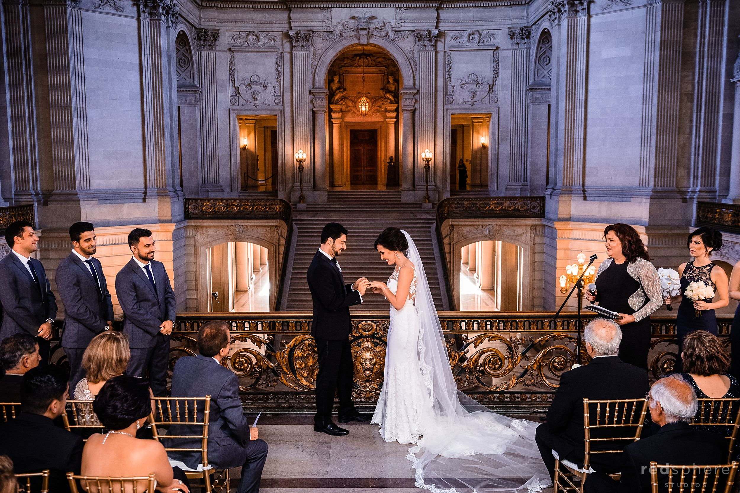 Wedding Ceremony City Hall San Francisco