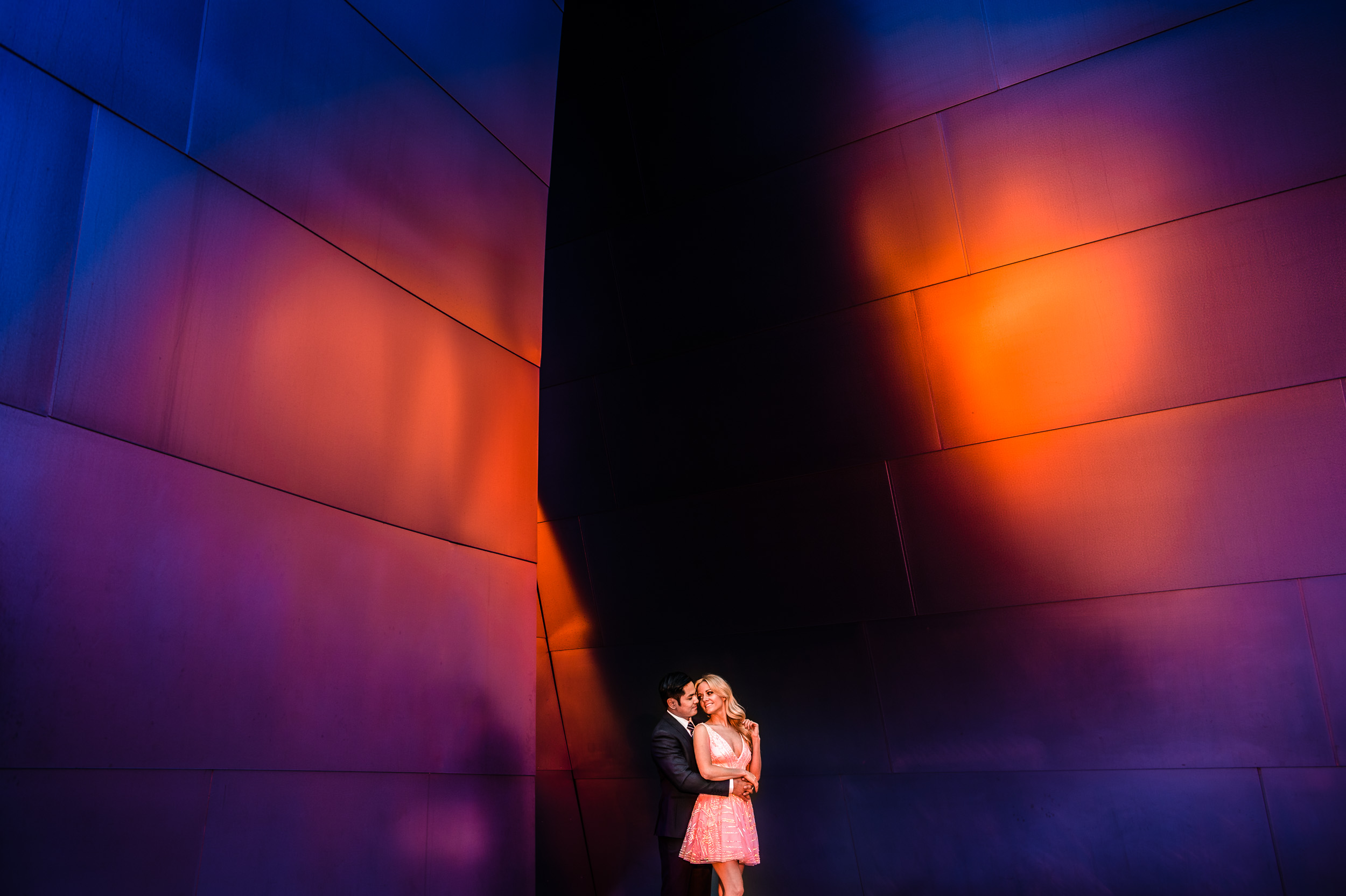 Lizzy + Ingel  Walt Disney Concert Hall & Griffith Observatory. Los Angeles, CA