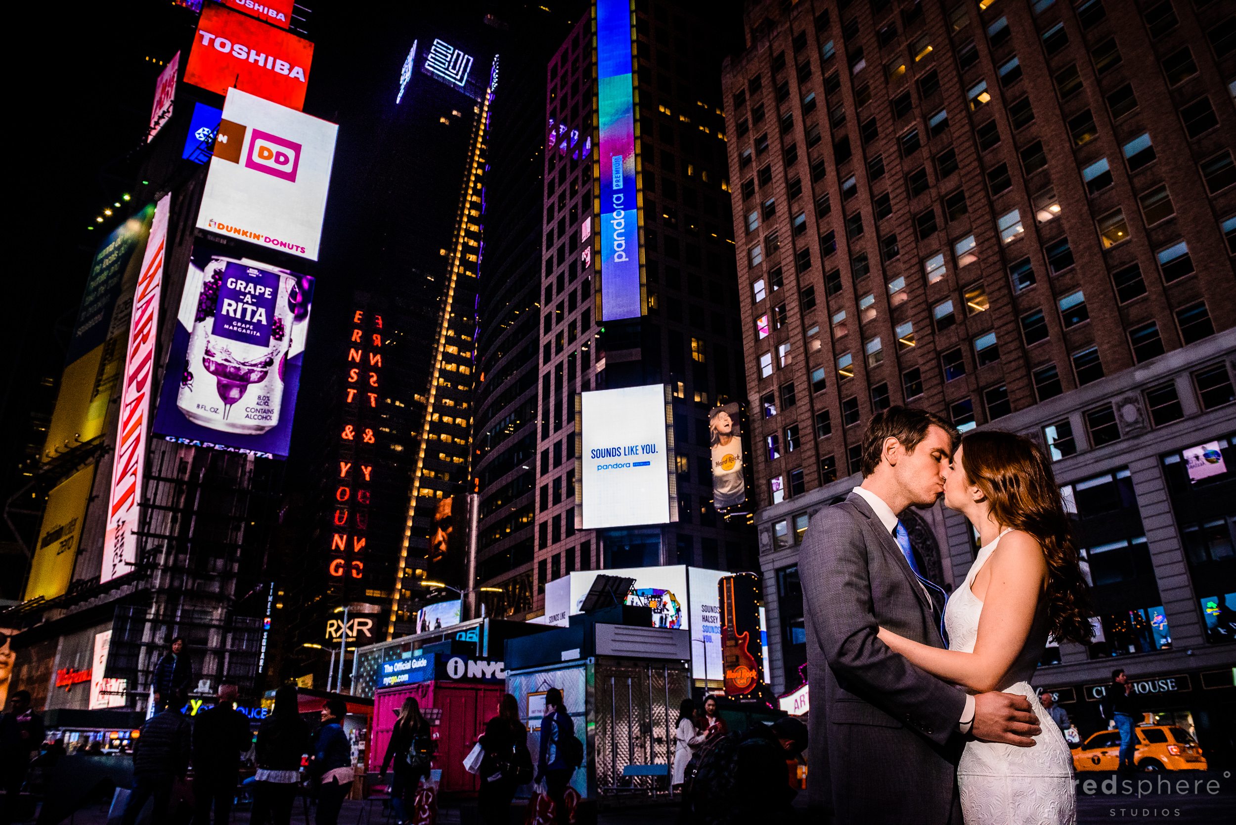 Times Square NYC Engagement Session