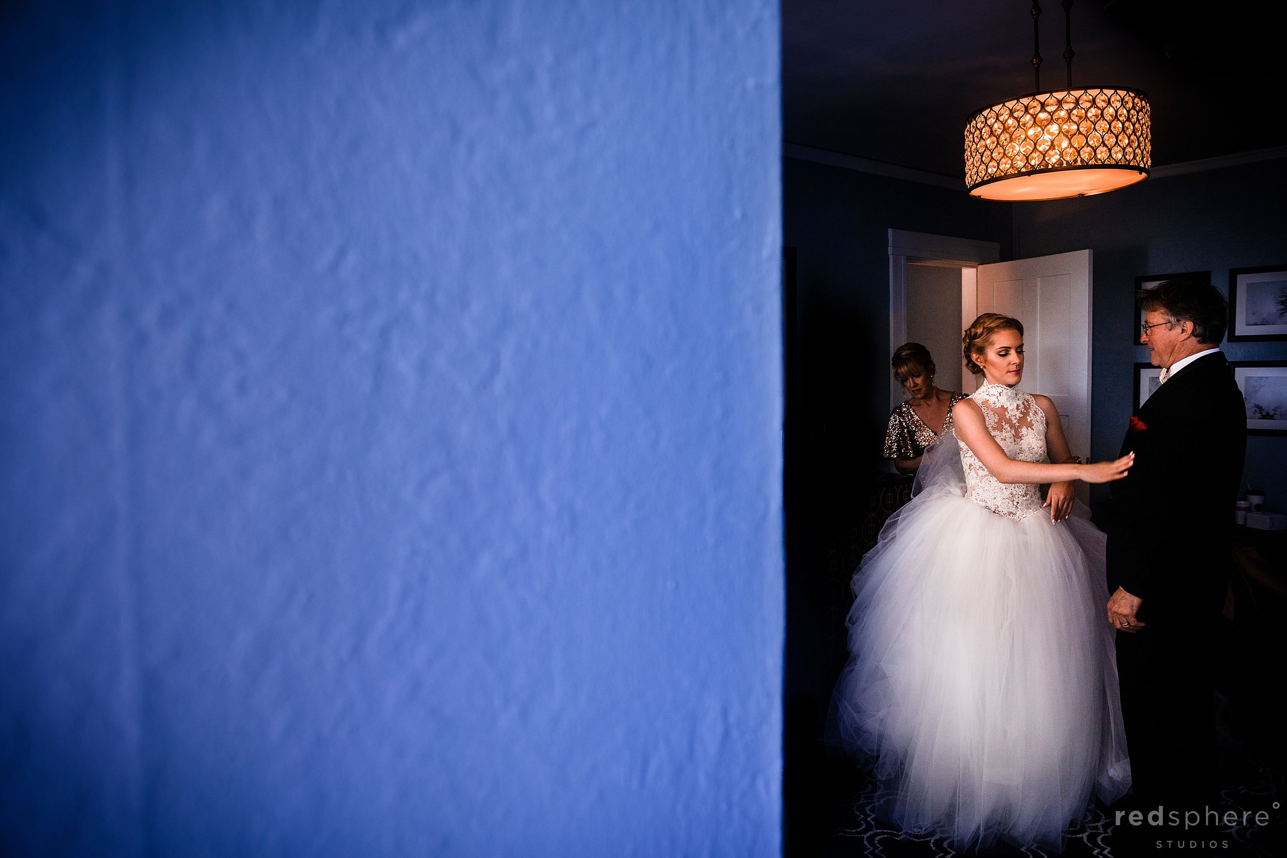 Wedding at the Claremont Hotel & Spa. Bride Getting Ready Photos