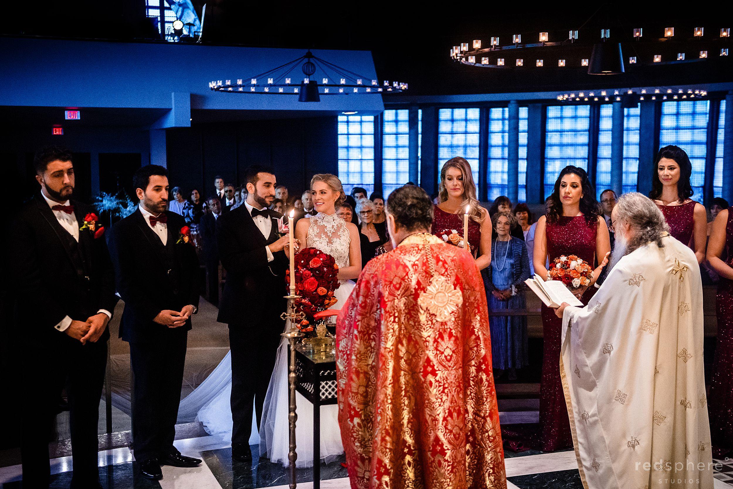 Ascension Greek Orthodox Church Oakland. Wedding photos