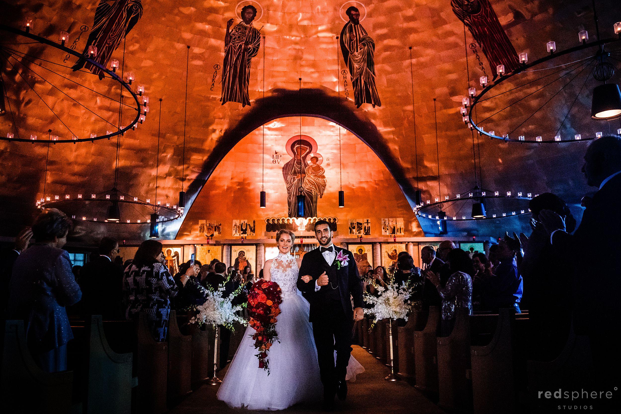 Greek Orthodox Church Oakland. Wedding ceremony