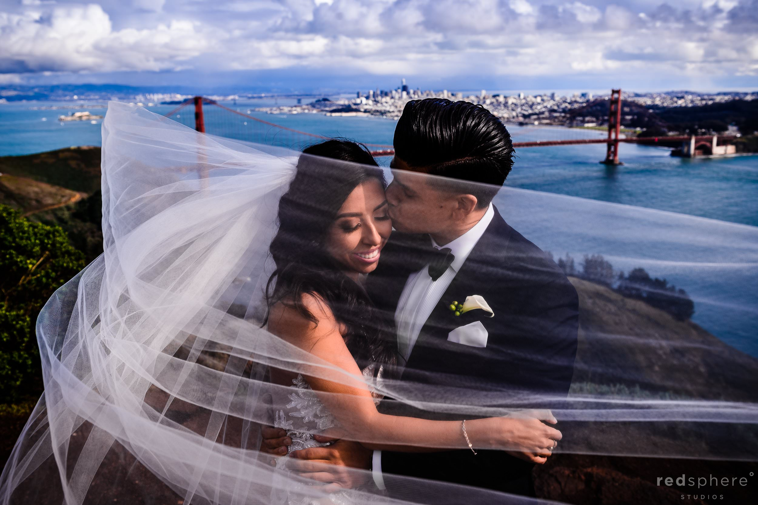 San Francisco Wedding Photography Golden Gate Bridge Marin Headlands