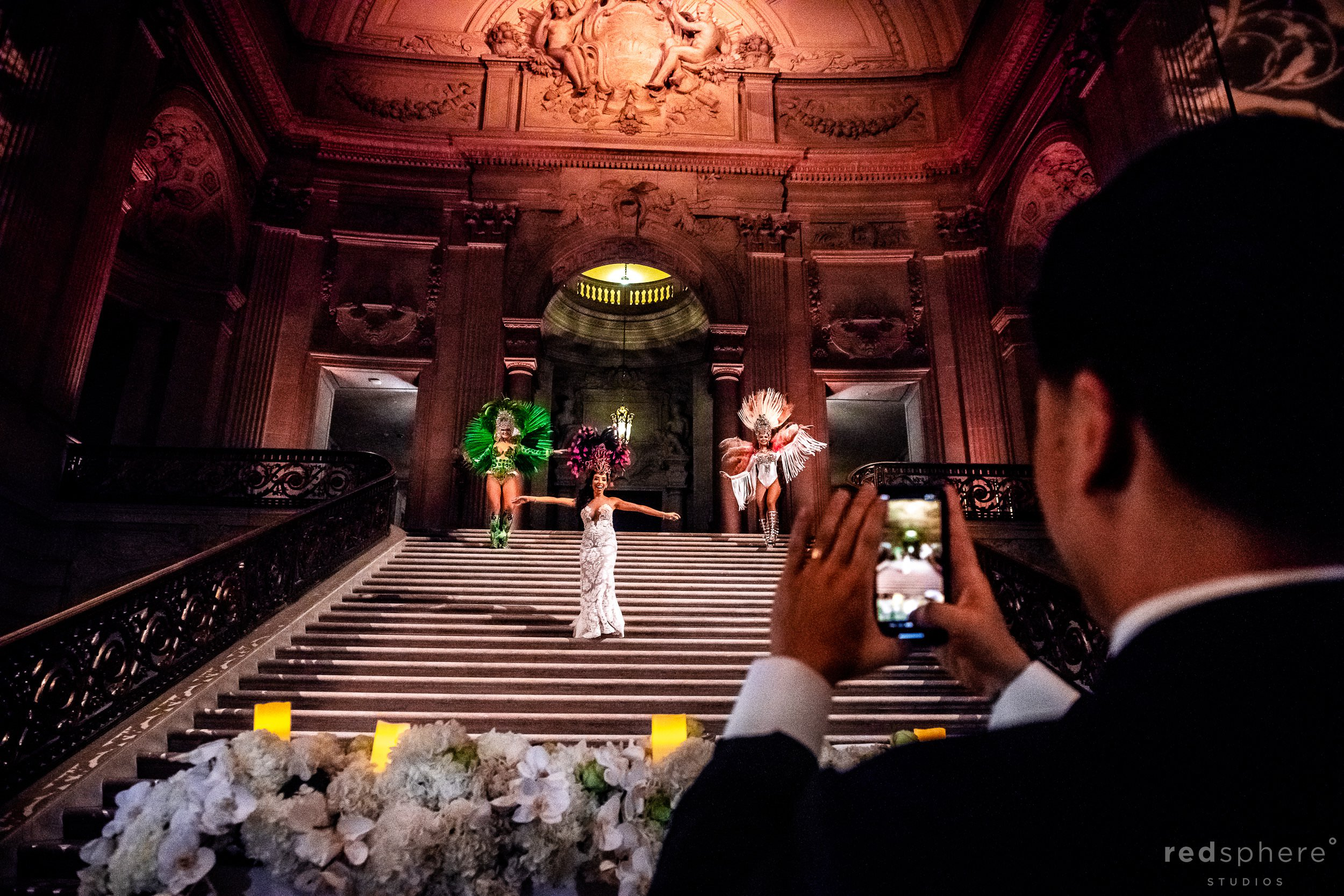 Wedding Samba Performance at San Francisco City Hall