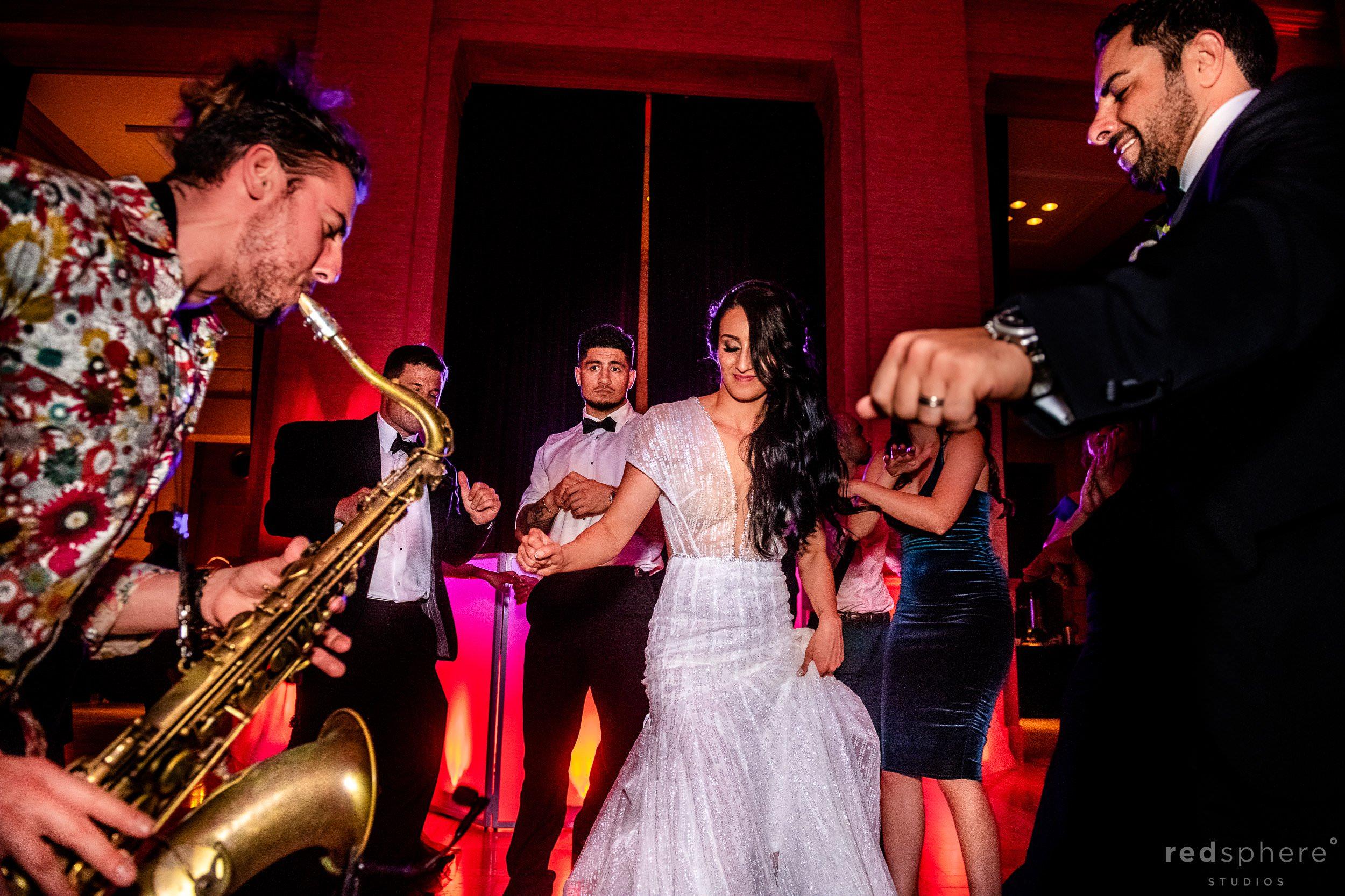 San Francisco Bently Reserve Wedding - Justin Ward sax