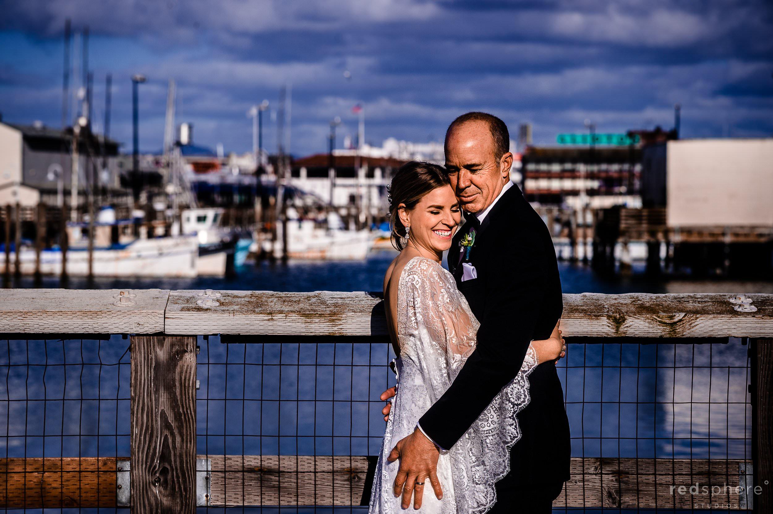 Aquatic Park Ghirardelli Square Wedding Photos