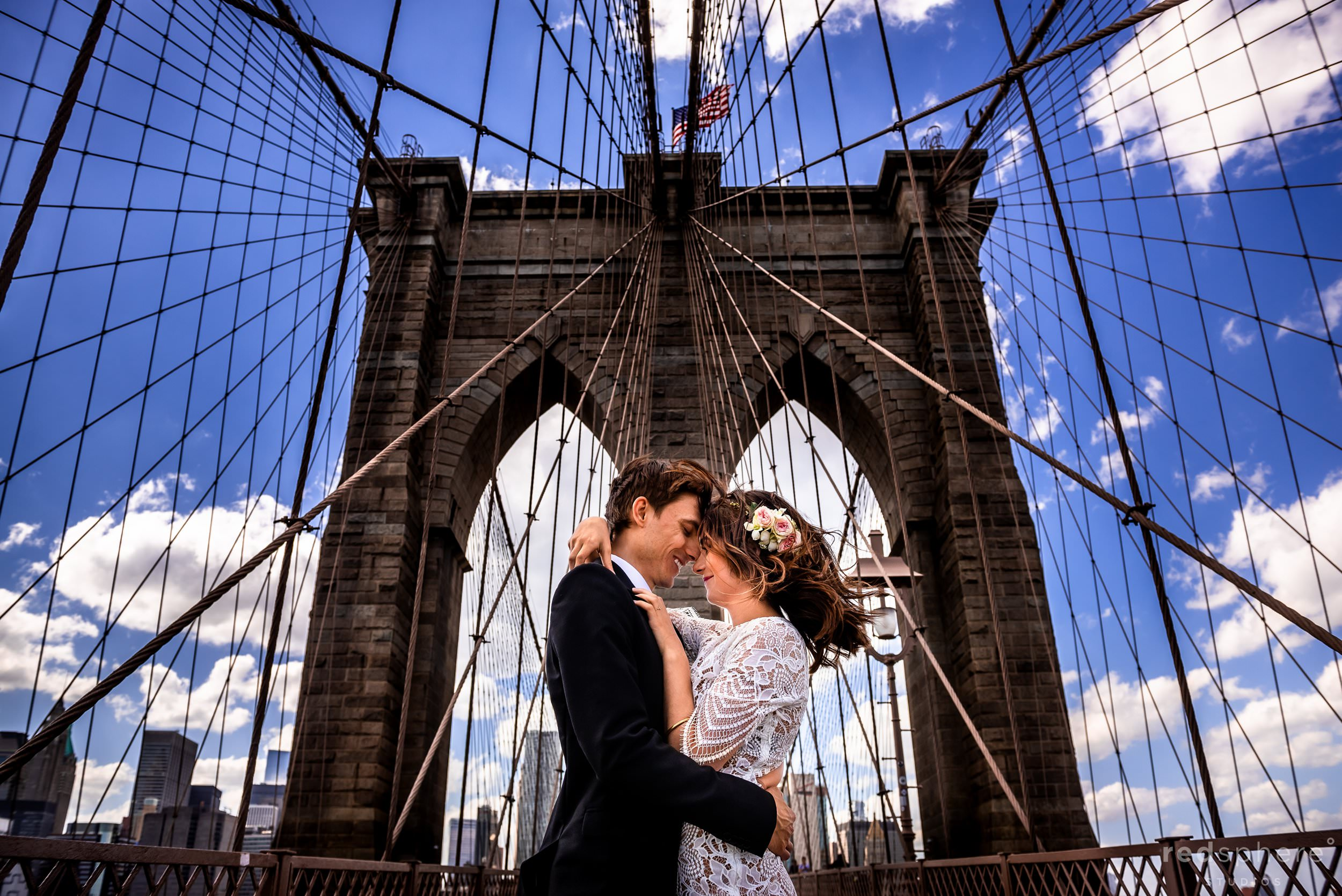 Brooklyn Bridge Wedding in New York City