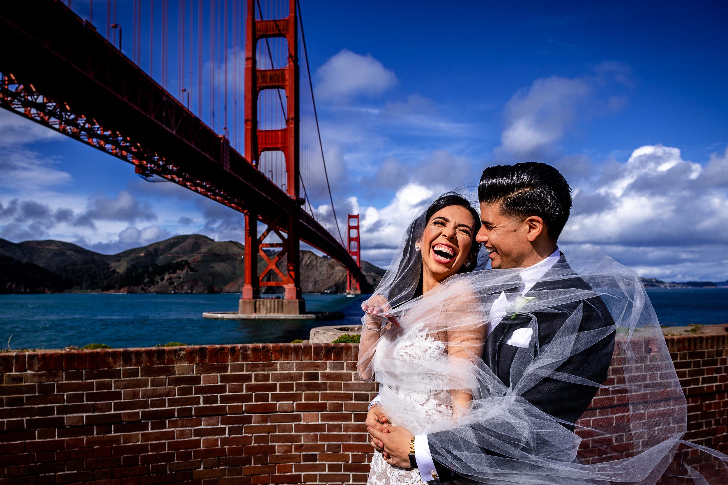 Rahysa + Christopher  SF City Hall. San Francisco, CA
