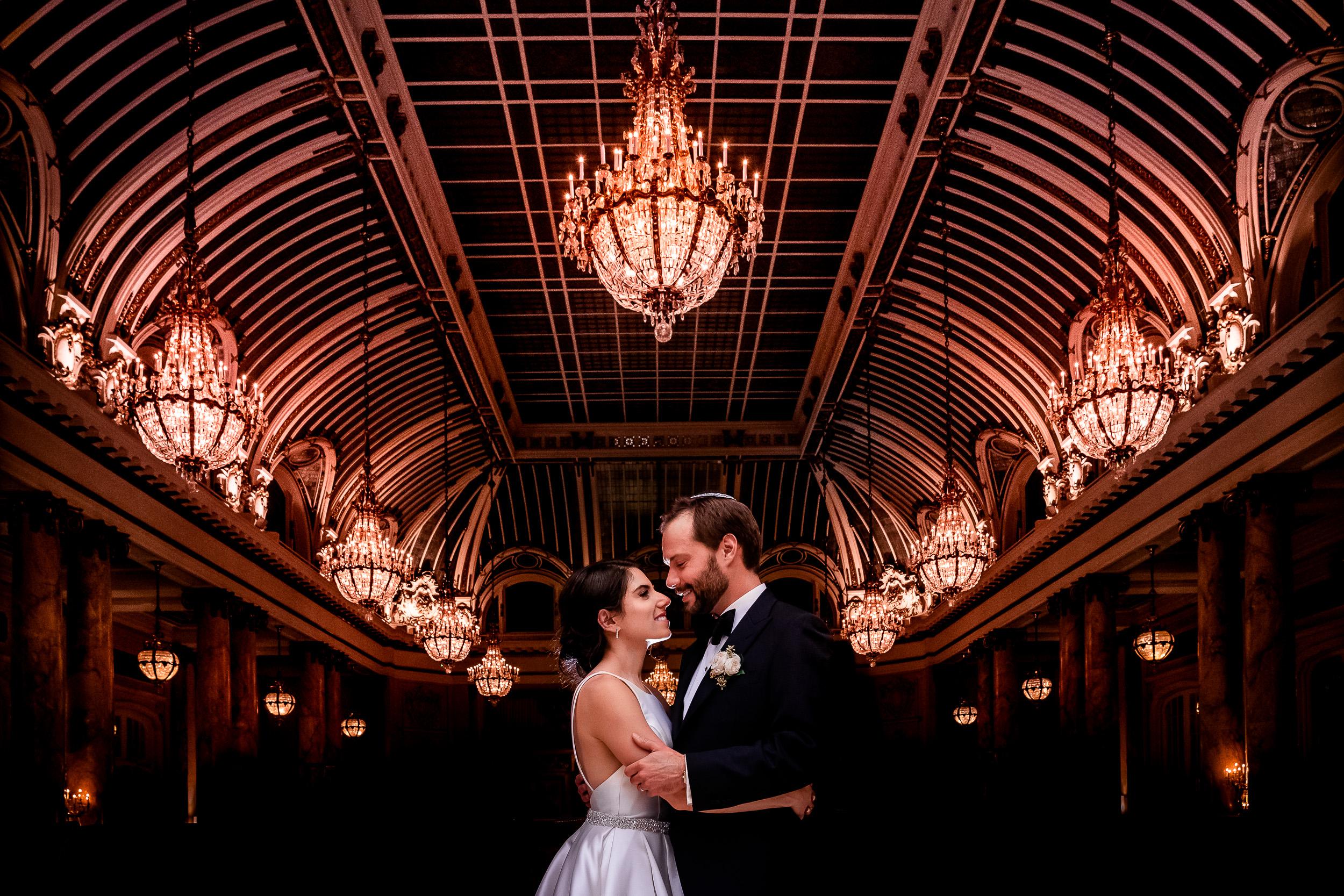 Julia + Jeffrey  Palace Hotel. San Francisco, CA