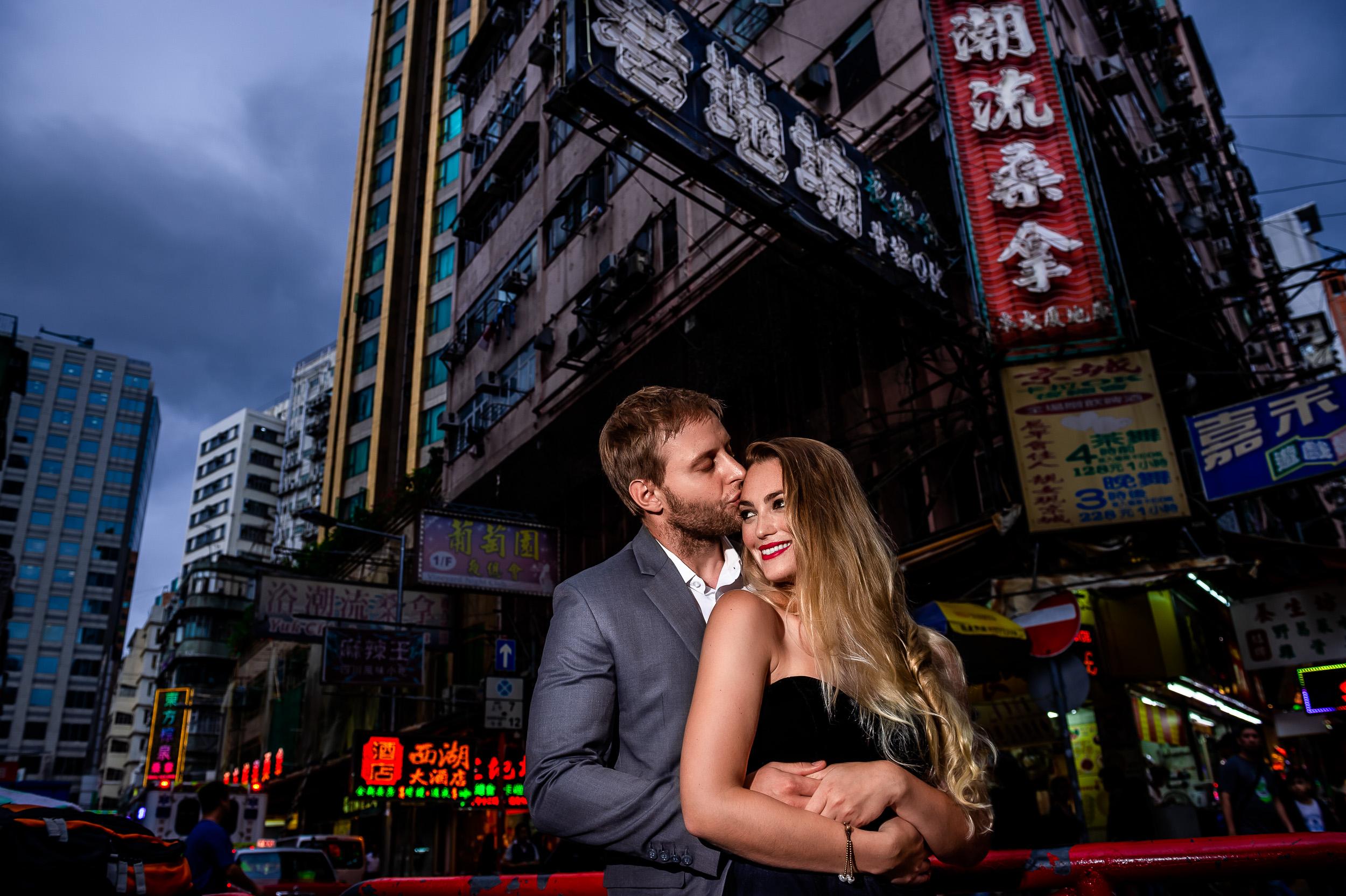 Michelle + Mike  Kowloon, Hong Kong