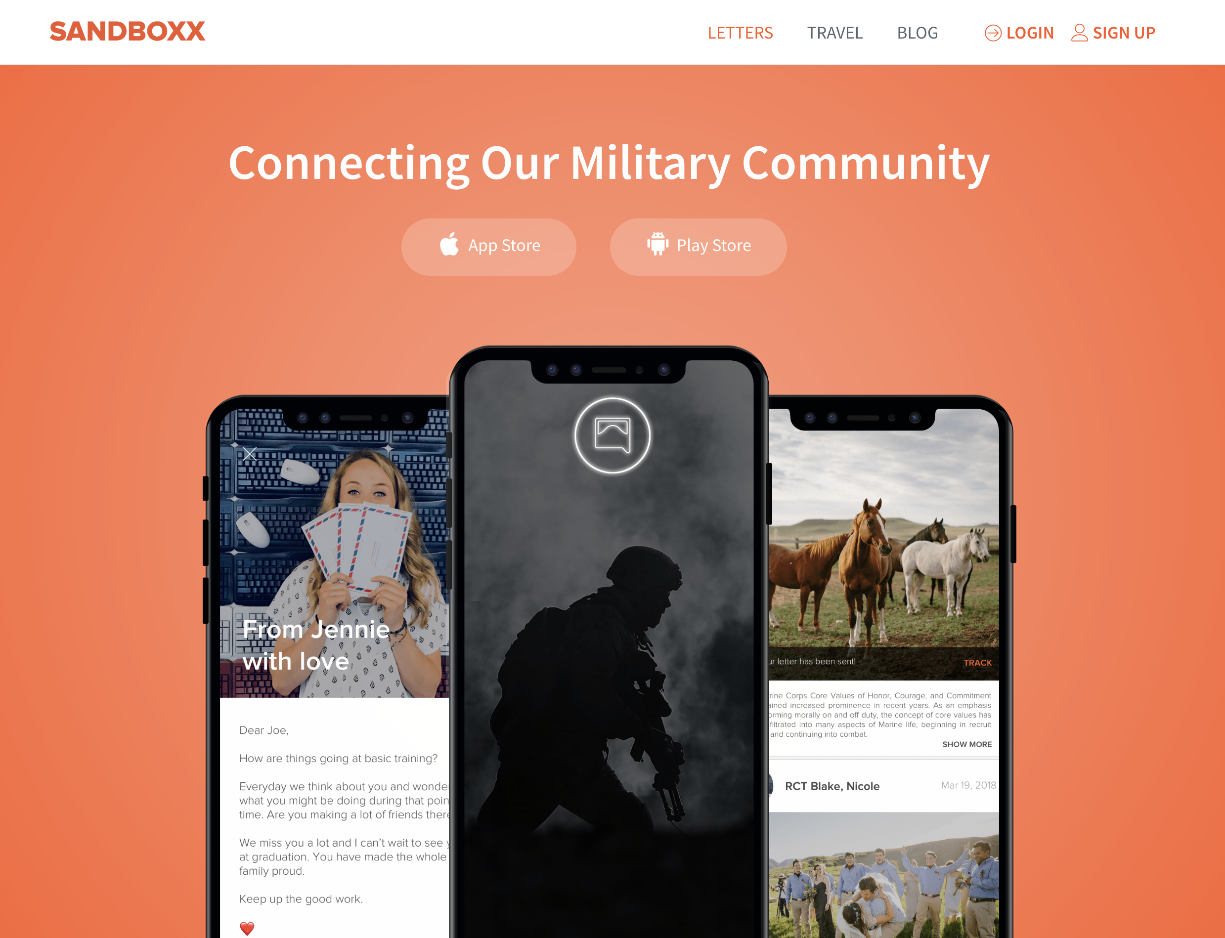 Staff Writer,Sandboxx.us - Sandboxx connects the military community through app-driven letters that can be sent to anyone in basic training, deployed or any military address around the world.