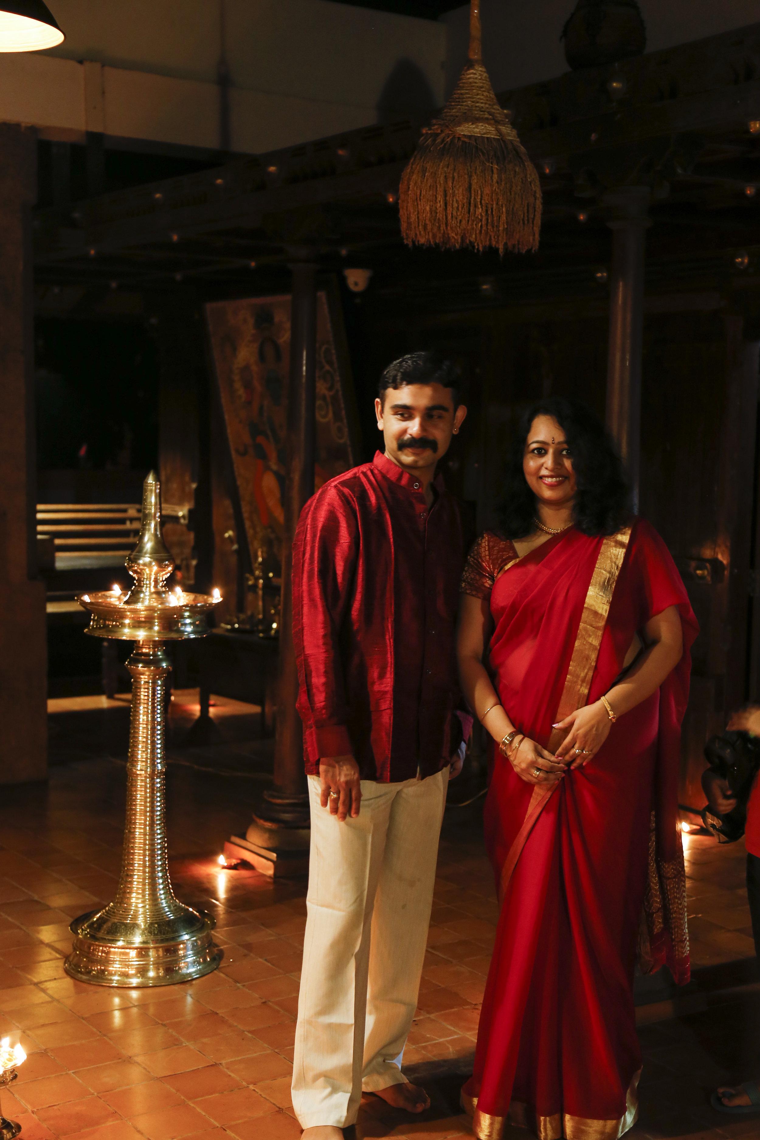 Dr Sreejit and Dr Jayalakshmi -