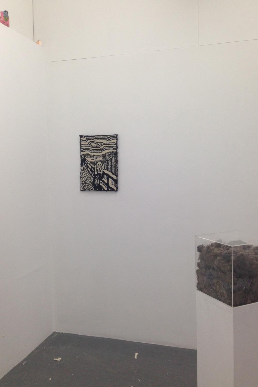 Matthew Harris, Things 2016, BLINDSIDE installation view. Close