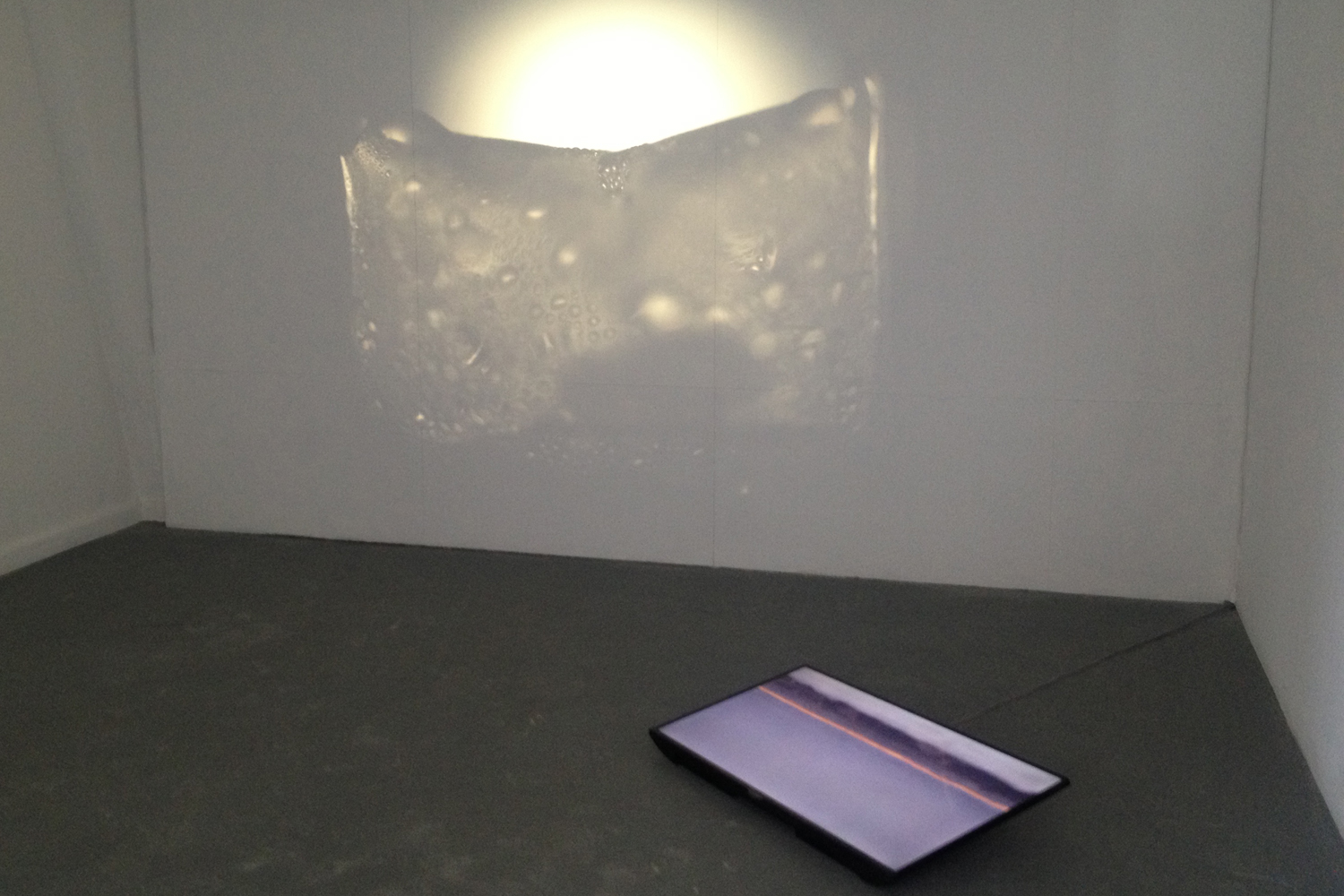 Emily Yuting Chen, The Light Pours Out of Me 2016, BLINDSIDE SUMMER STUDIO installation detail.