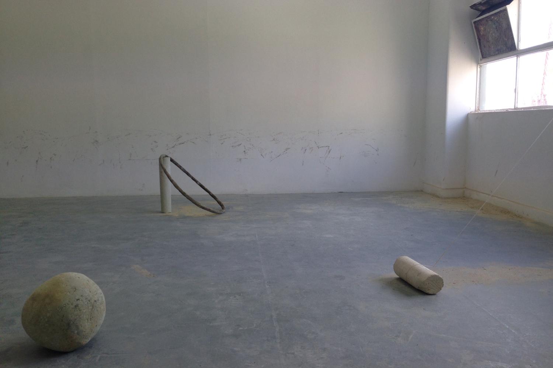 Jordan Mitchell-Fletcher, Made Unmade, 2016, BLINDSIDE SUMMER STUDIO installation detail.
