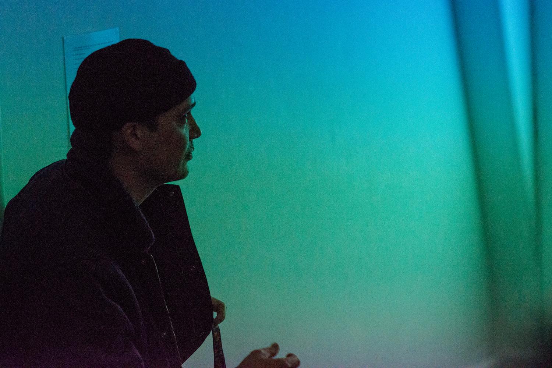 Tom Smith, performance, Gesture Manifest, BLINDSIDE , 2016.