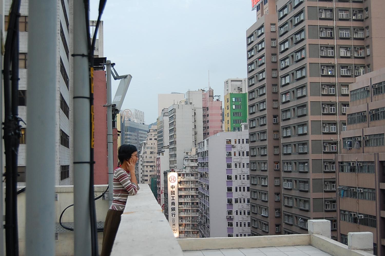 Alice Hui Sheng Chang Warming up at KLUUBB Hong Kong 2007 photo by Hsieh Jo-Lin.jpg