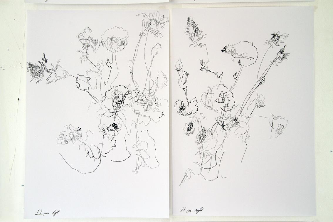 Hannah Bertram, 24 Hour Drawing Project 2013, detail, pen, paper.JPG