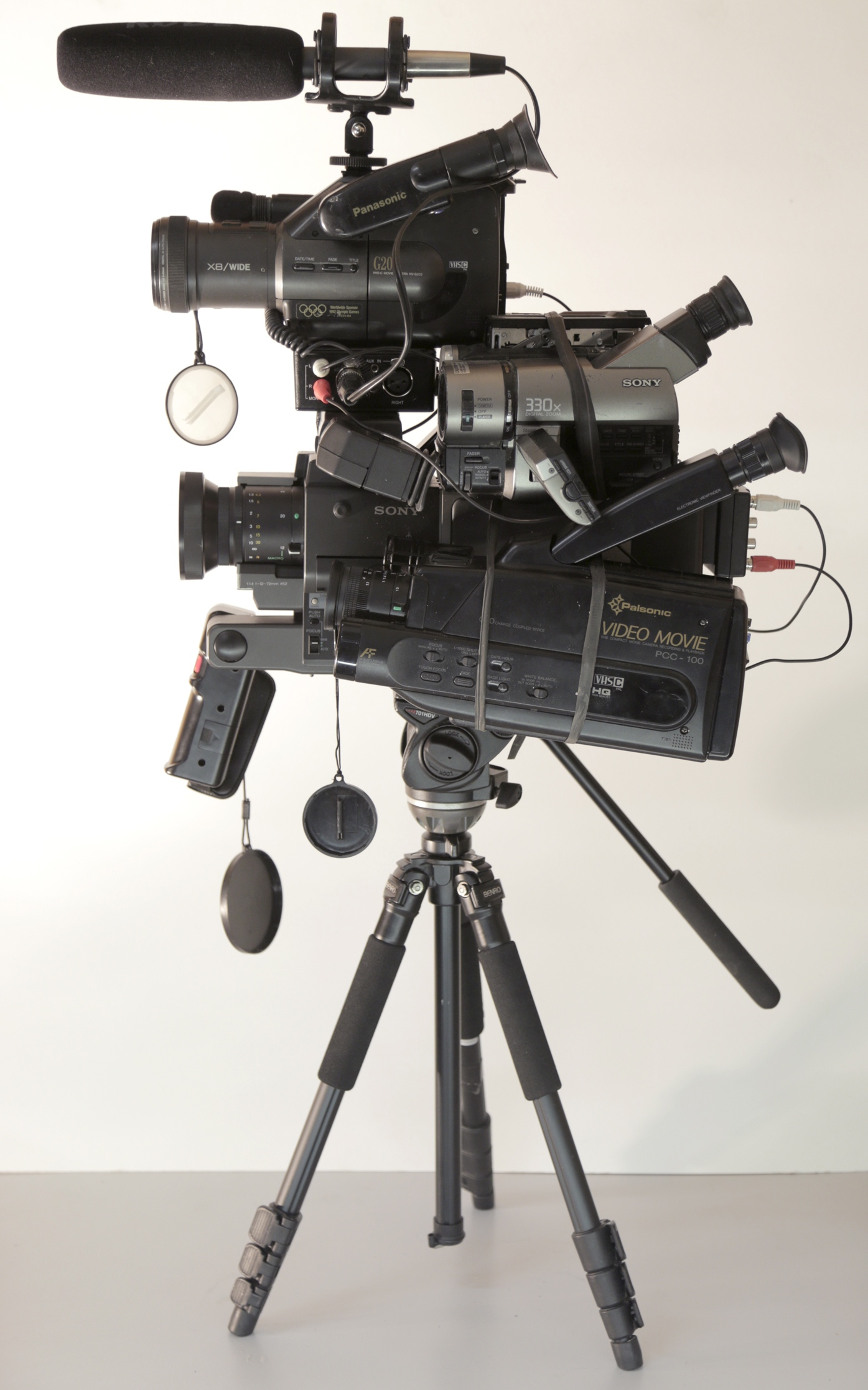 Alex Cuffe, Quadrascopic video camera prototype (2013).jpg
