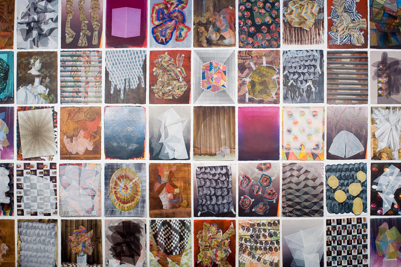 Greg Hodge Universe 2011 acrylic on paper approx 202cm x 358cm .jpg