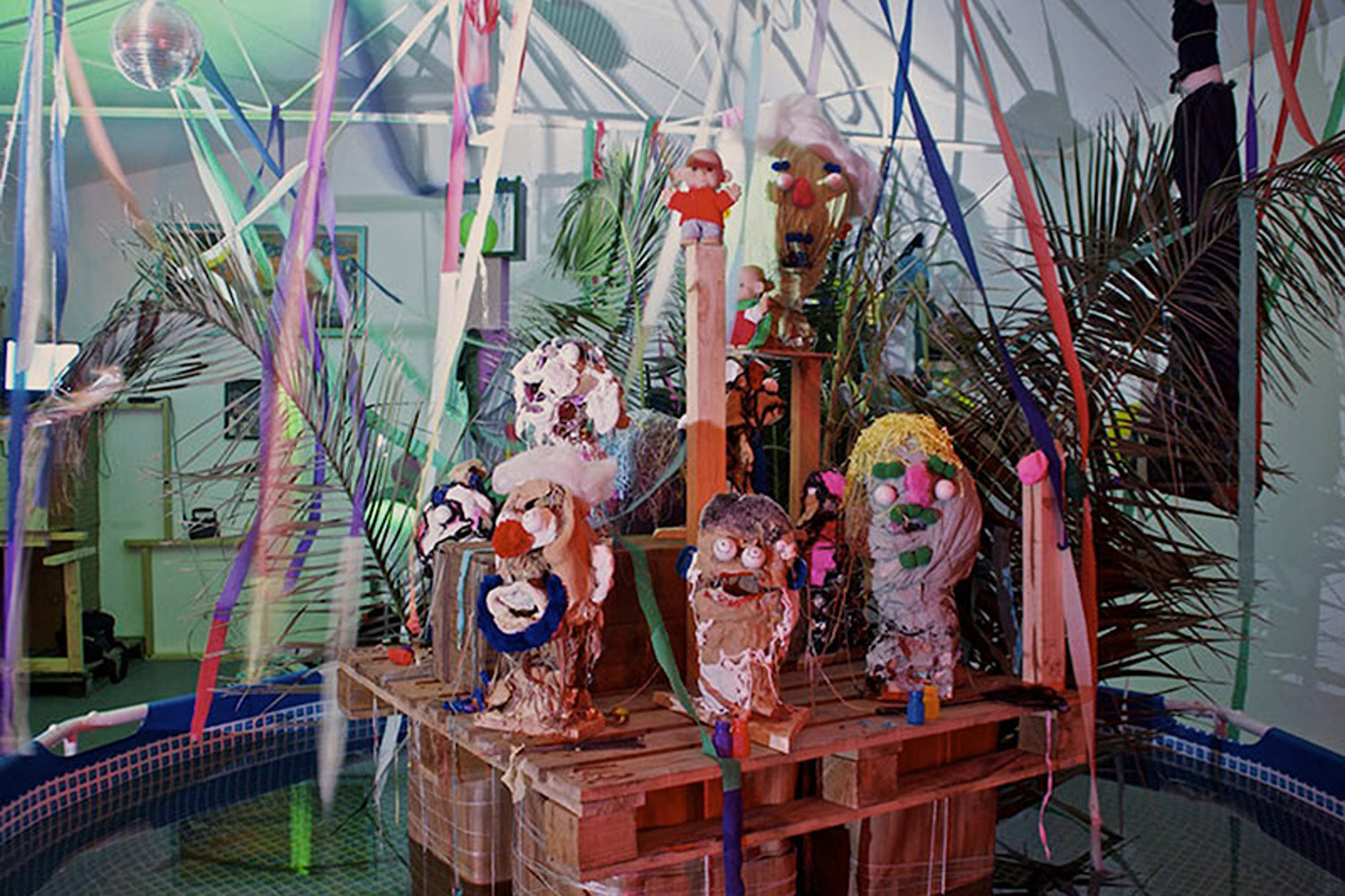 CURTAIN CALL: END OF THE WORLD PARTY  Curated by Blaine Cooper, Elise Murphy + Claire Anna Watson  19 – 22 DEC 2012