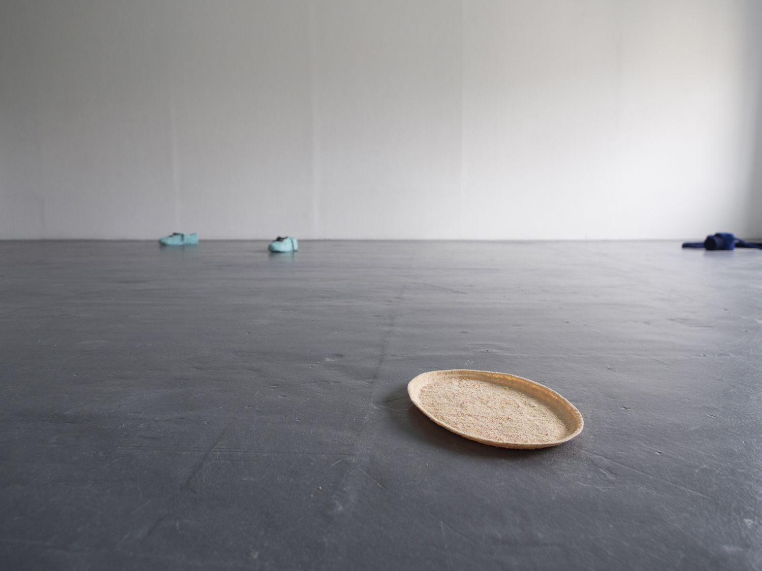 Leanne Failla,  A collection of objects to retain from a collection of objects to discard , 2017, Installation view. Photo Eliza Tiernan. Image courtesy the artist.