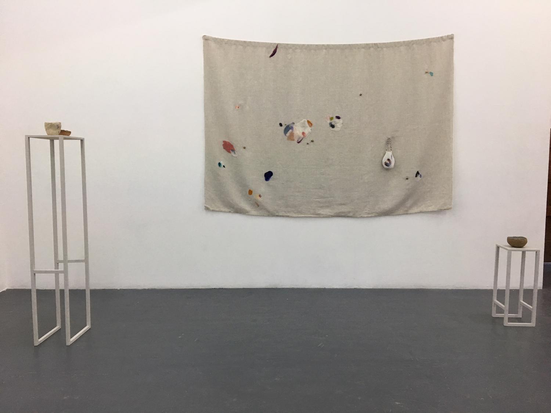 Anna Dunnill, Skin Rituals, 2018, installation view, BLINDSIDE 2018. Courtesy the artist.