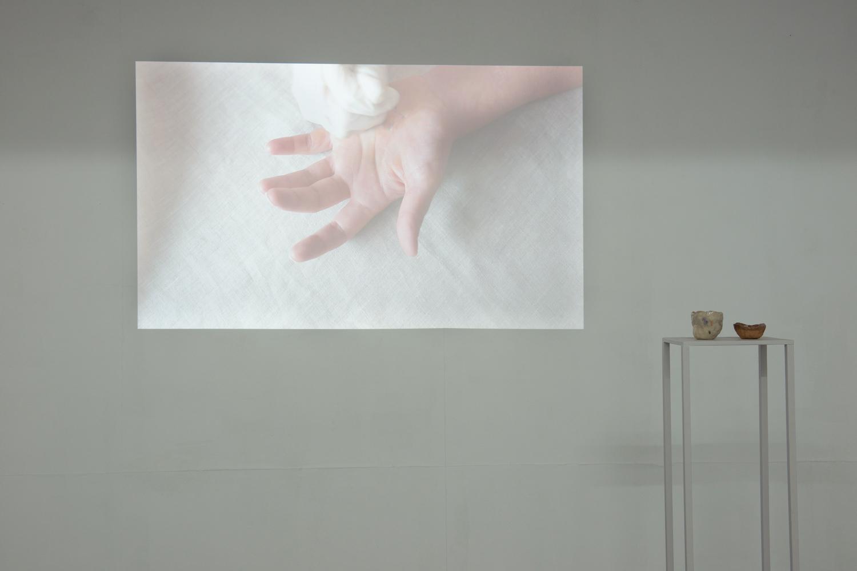 Anna Dunnill, Skin Rituals, 2018, installation view, BLINDSIDE 2018. Photo Nick James Archer. Courtesy the artist.