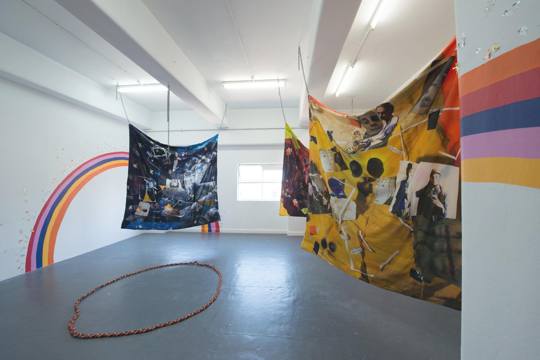 Kieran Butler, Rainbow Bois and Magical Gurls, 2018, installation view, BLINDSIDE 2018. Photo Nick James Archer. Courtesy the artist.