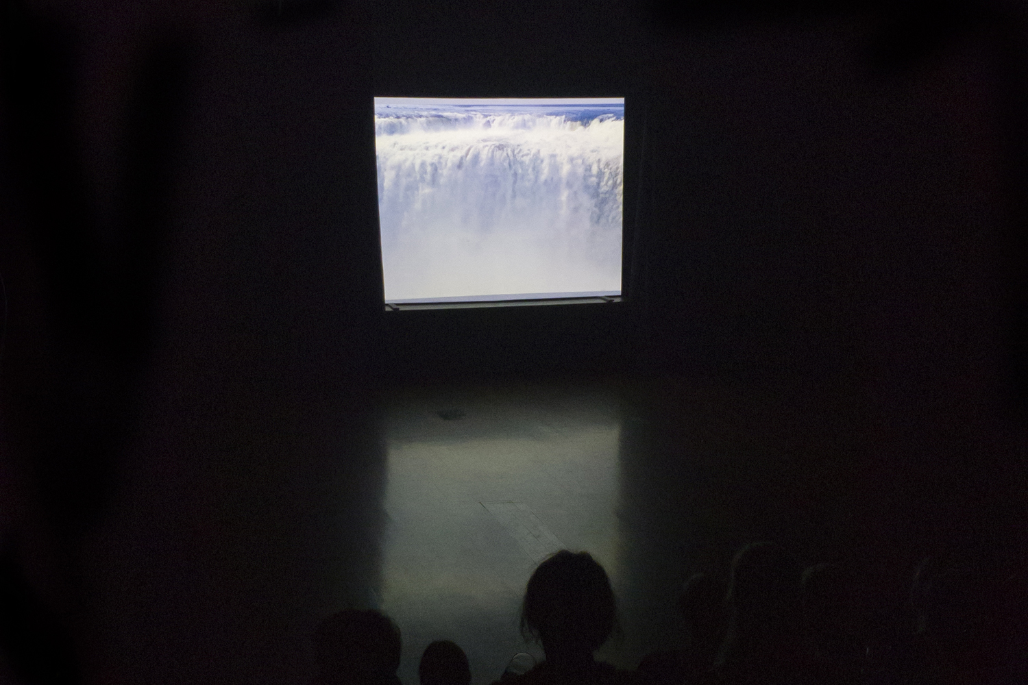 Screening of  Pearlescent Verse , May 17 2019, DANCEHOUSE, Human Rights Arts and Film Festival 2019. Photo Talia Carroll. Courtesy the artists.