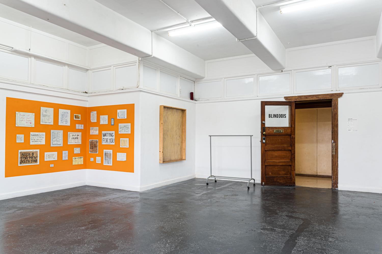 Unfinished Decor, BLINDSIDE 2019. Peter Burke, Elizabeth Newman. | Photo Roberta Govoni. Courtesy the artists.