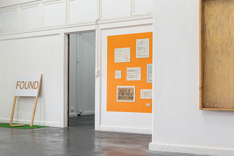 Unfinished Decor, BLINDSIDE 2019. Peter Burke + Robert Mangion, Elizabeth Newman.  | Photo Roberta Govoni. Courtesy the artists.