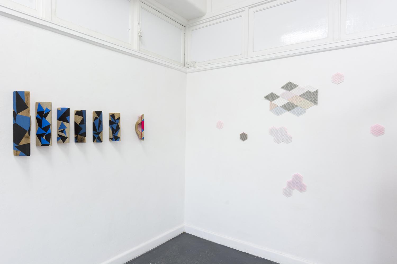 Ham Darroch,  Floats (planes 1-7)  2019, installation. Photo: Talia Carroll. | Courtesy the artists.