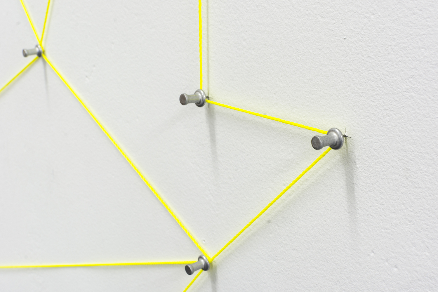 Annelies Jahn,  5 x 9 #2.1,  2017, string and pins, 230 x 325cm, Document Photography, 2019 | Courtesy the artists.