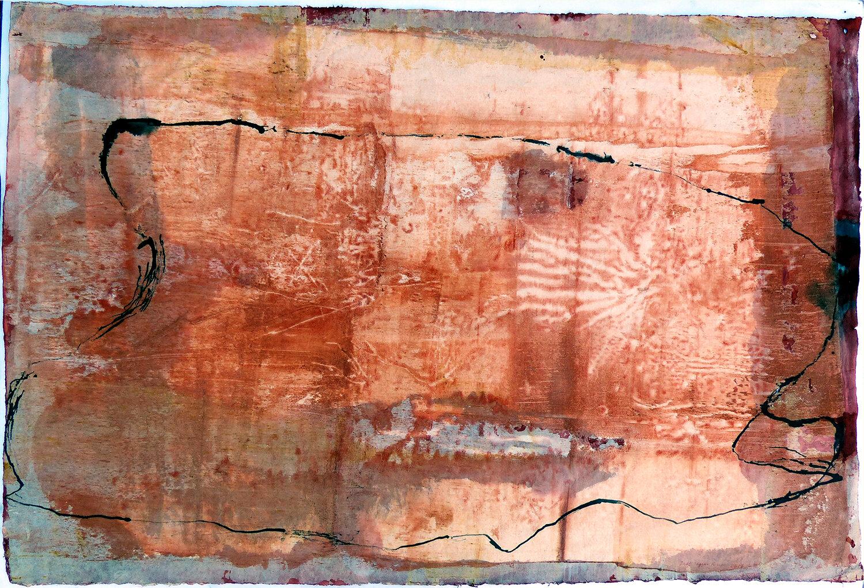 Jude Roberts,  Ways of Listening,  65 x 97cm, 2018. Courtesy the artist.