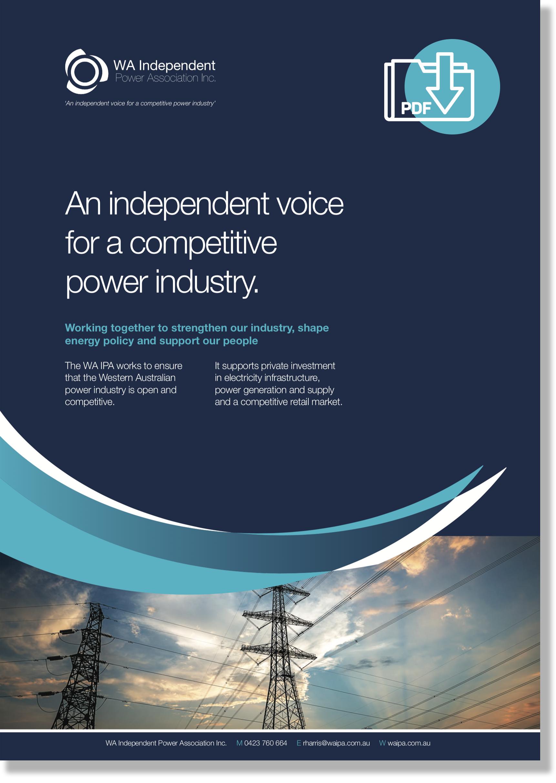 Download the WA IPA brochure